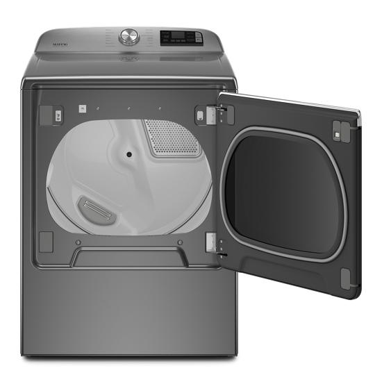 Model: MGD8230HC | Maytag Smart Capable Top Load Gas Dryer with Extra Power Button - 8.8 cu. ft.