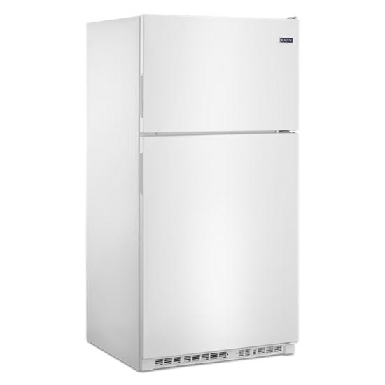Model: MRT311FFFH | Maytag 33-Inch Wide Top Freezer Refrigerator with PowerCold® Feature- 21 Cu. Ft.