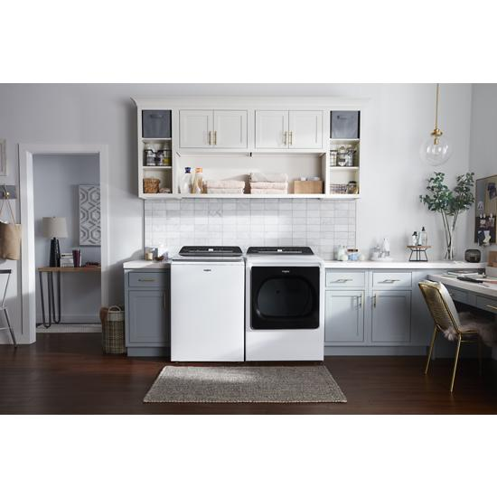 Model: WTW8120HW | Whirlpool 5.3 cu. ft. Smart Capable Top Load Washer