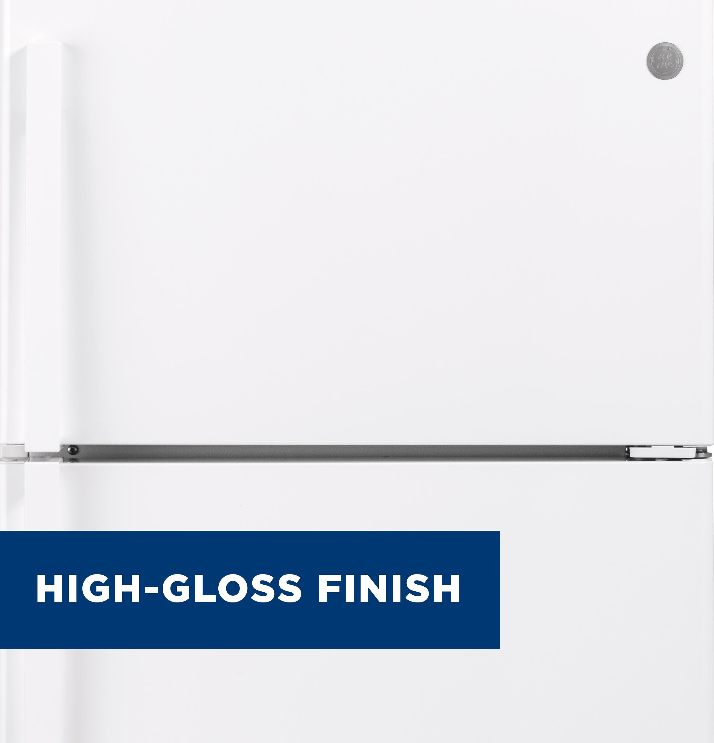 Model: GTS19KGNRWW   GE GE® 19.2 Cu. Ft. Top-Freezer Refrigerator