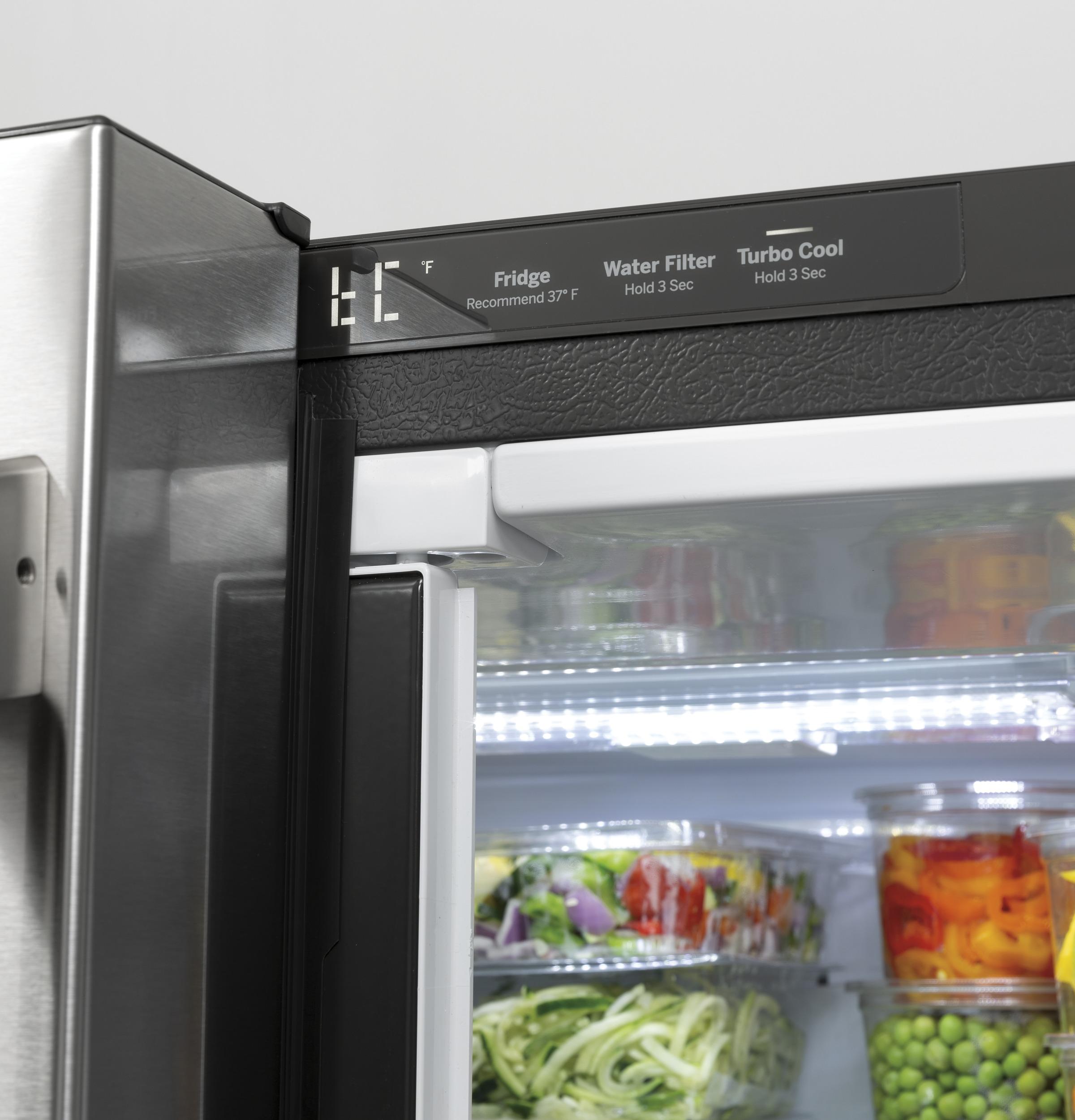 Model: CWE19SP4NW2 | Cafe Café™ ENERGY STAR® 18.6 Cu. Ft. Counter-Depth French-Door Refrigerator