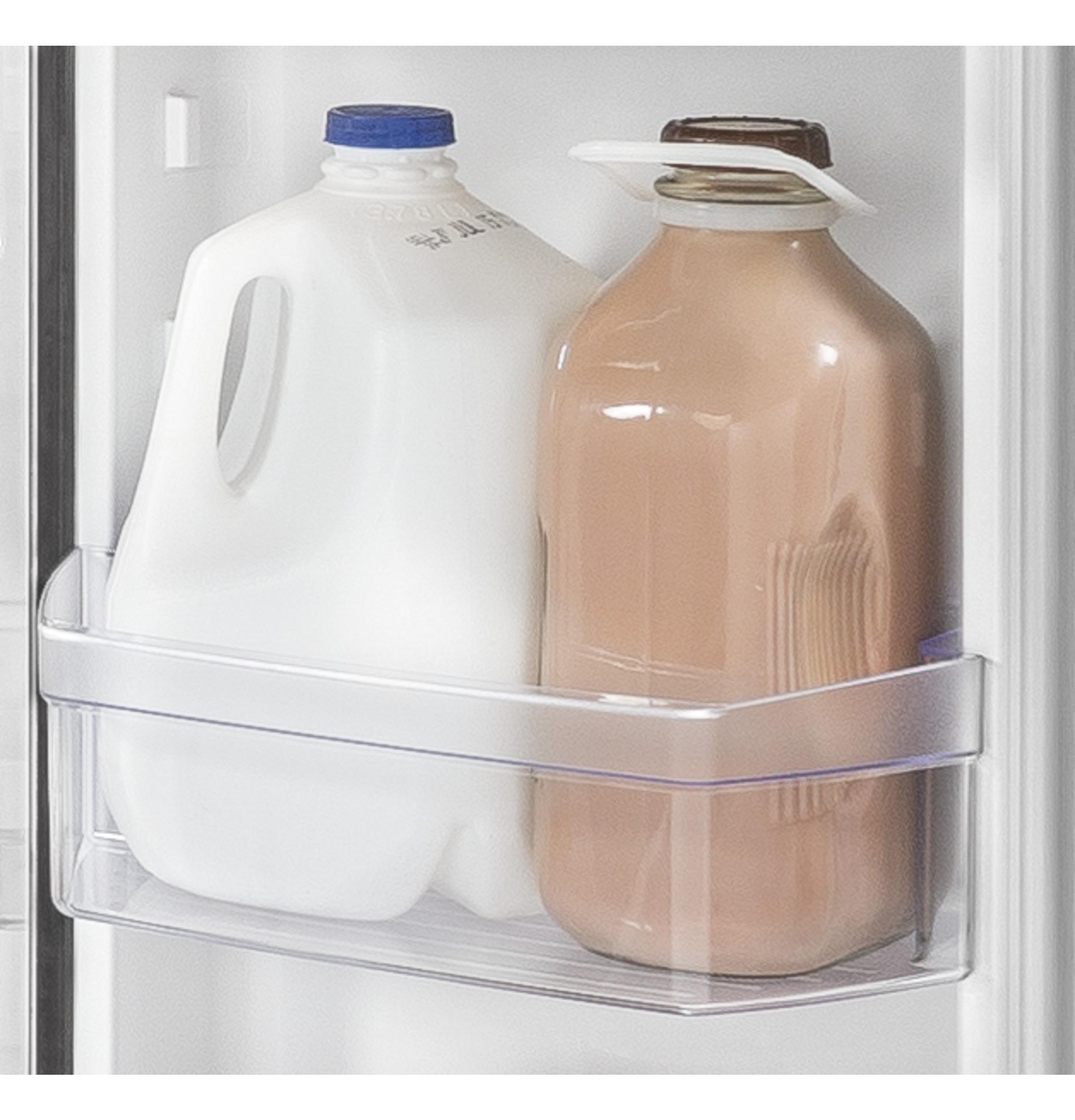 Model: GYE18JBLTS | GE GE® ENERGY STAR® 17.5 Cu. Ft. Counter-Depth French-Door Refrigerator