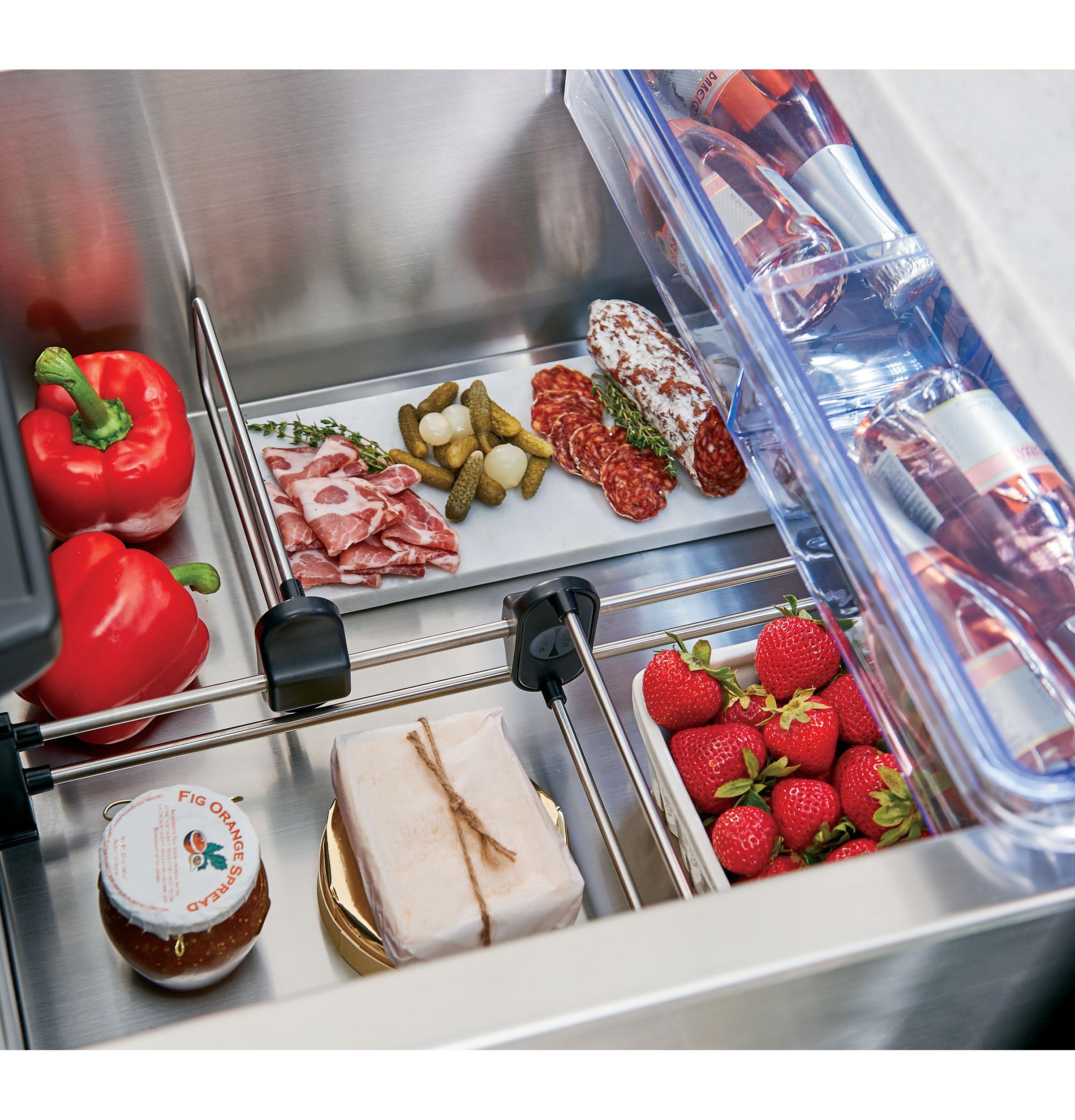 Model: CDE06RP2NS1 | Cafe Café™ 5.7 Cu. Ft. Built-In Dual-Drawer Refrigerator