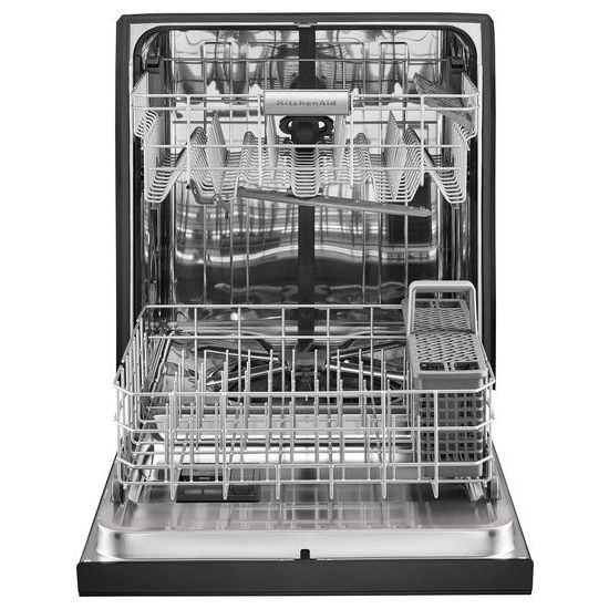 Model: KDFE104HBL | KitchenAid 46 DBA Dishwasher with ProWash™, Front Control