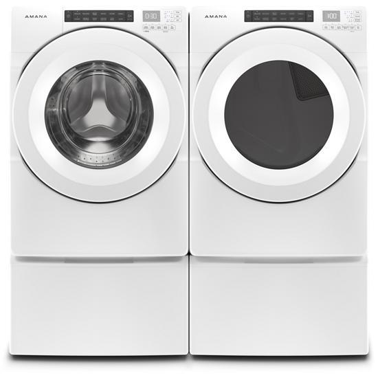 Model: NGD5800HW | Amana 7.4 cu. ft. Front-Load Dryer with Sensor Drying