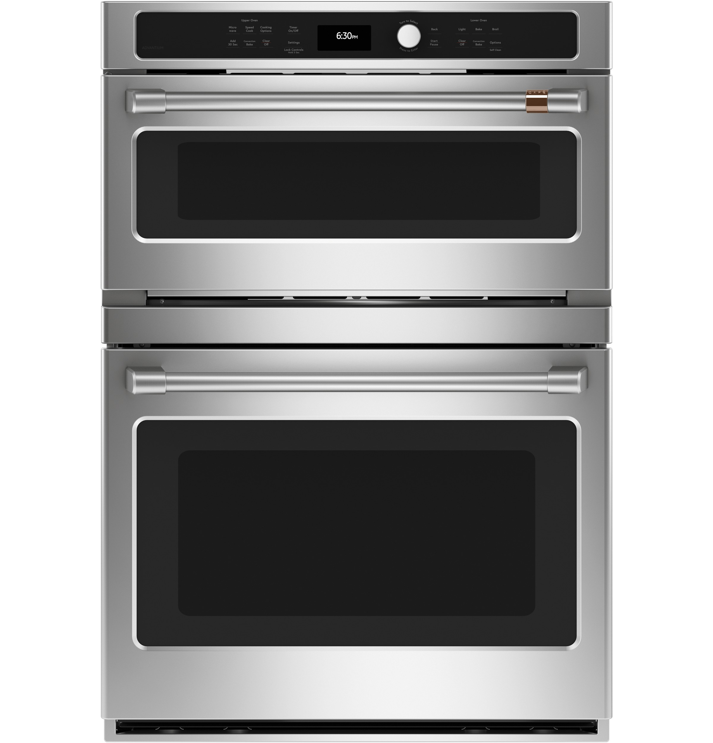 Cafe Café™ 30 in. Combination Double Wall Oven with Convection and Advantium® Technology