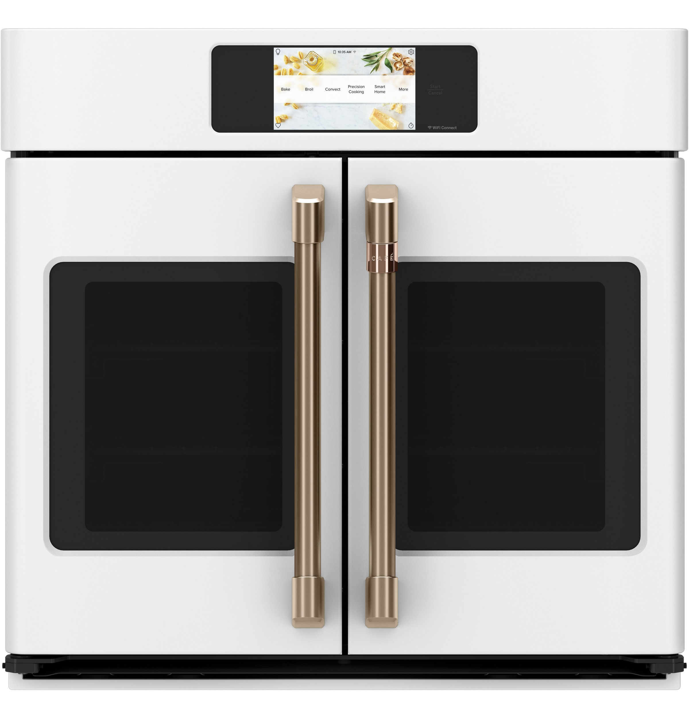 "Cafe Café™ Professional Series 30"" Smart Built-In Convection French-Door Single Wall Oven"