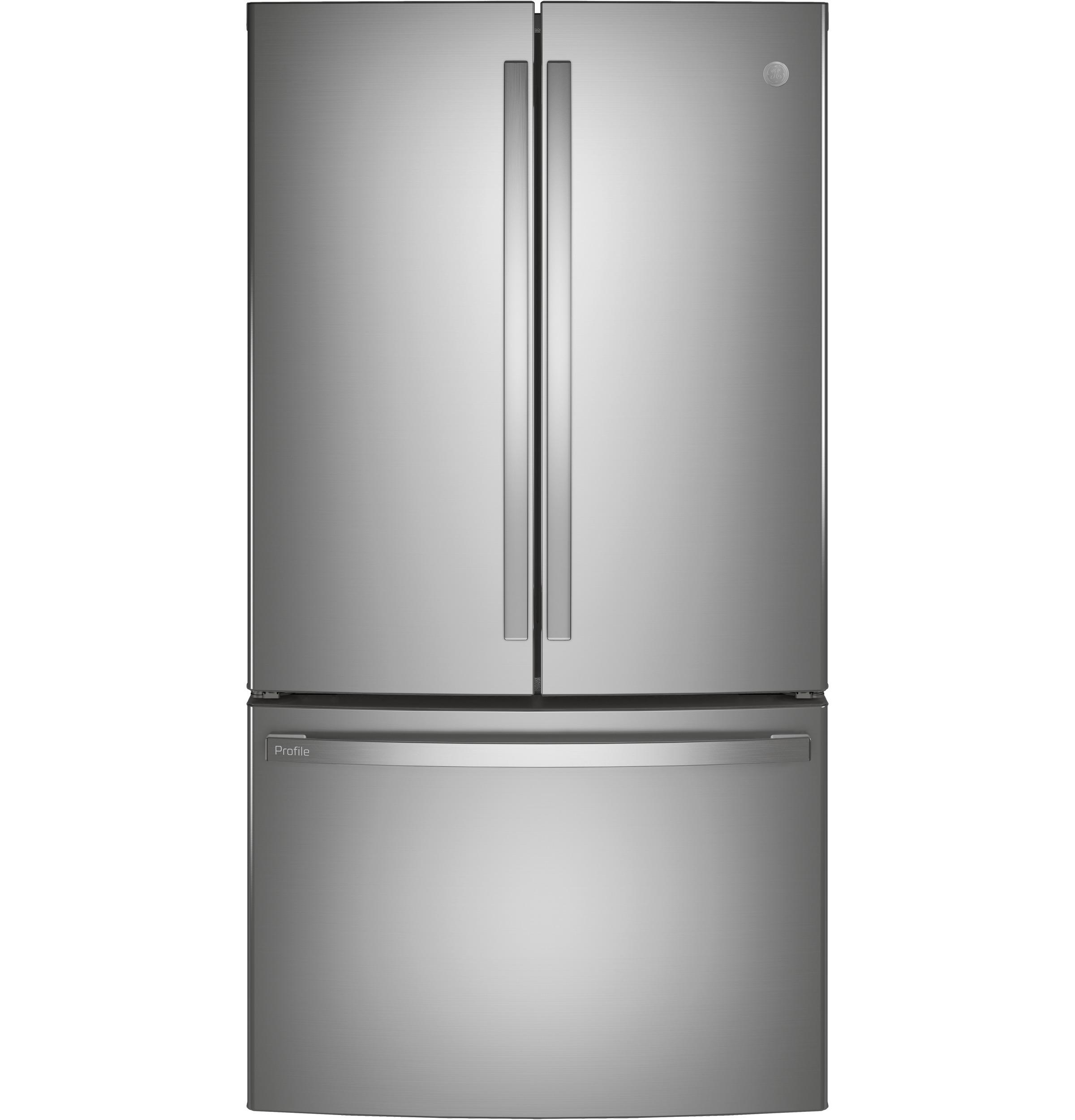GE Profile GE Profile™ ENERGY STAR® 23.1 Cu. Ft. Counter-Depth French-Door Refrigerator
