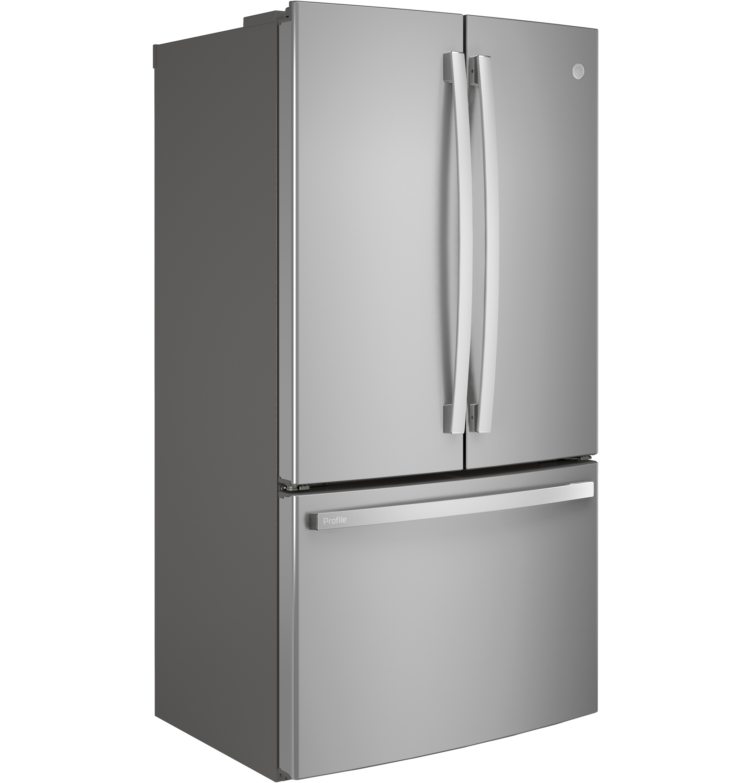Model: PWE23KYNFS | GE Profile GE Profile™ ENERGY STAR® 23.1 Cu. Ft. Counter-Depth French-Door Refrigerator