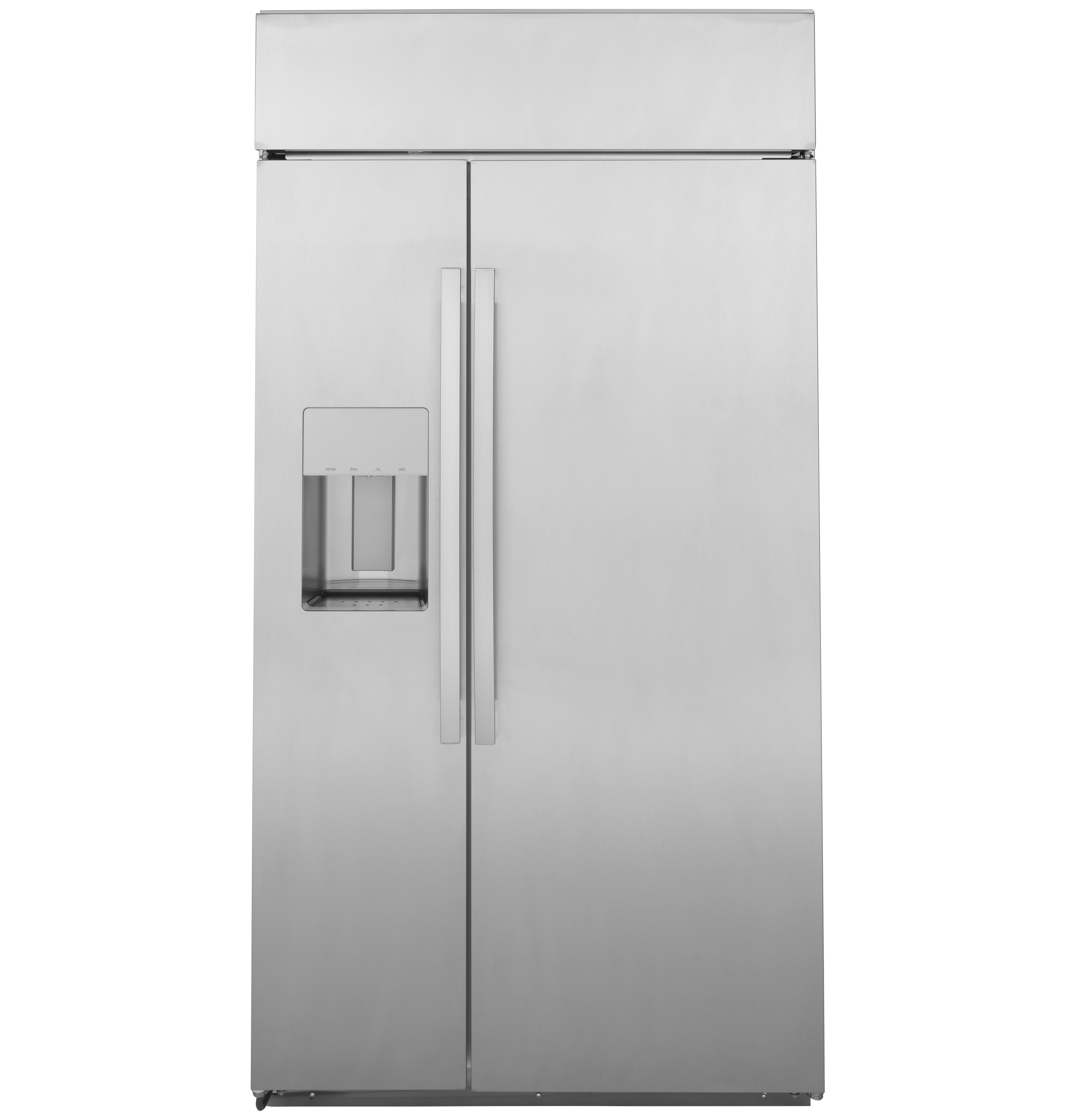 "GE Profile GE Profile™ Series 42"" Smart Built-In Side-by-Side Refrigerator with Dispenser"