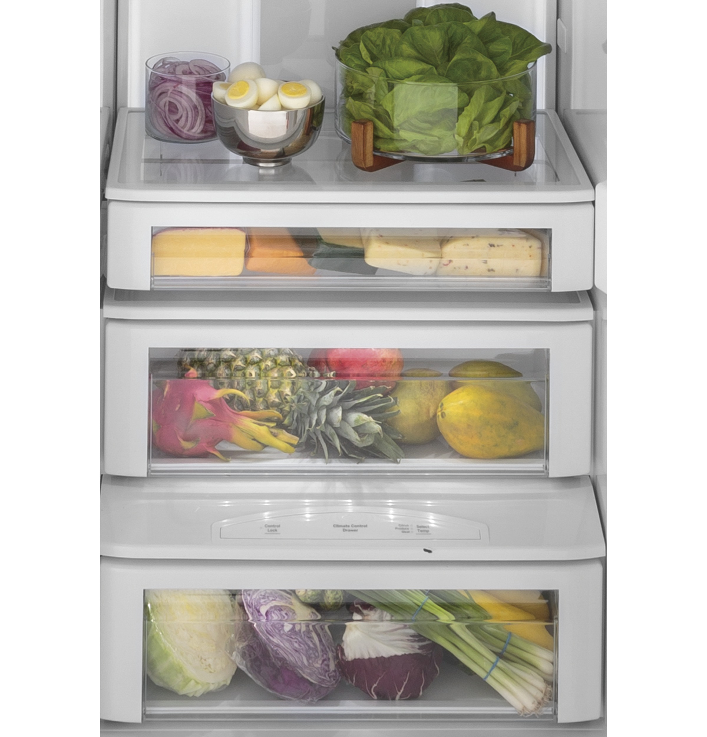 "Model: PSB42YSNSS | GE Profile GE Profile™ Series 42"" Smart Built-In Side-by-Side Refrigerator with Dispenser"