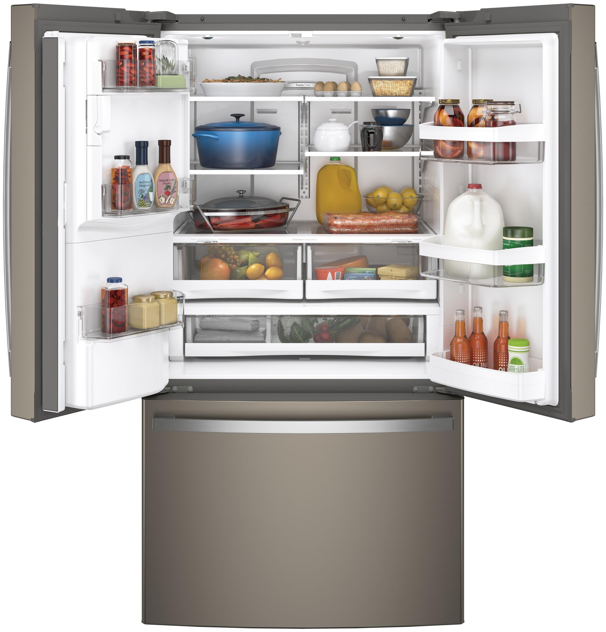 Model: GFE28GMKES | GE GE® ENERGY STAR® 27.7 Cu. Ft. French-Door Refrigerator