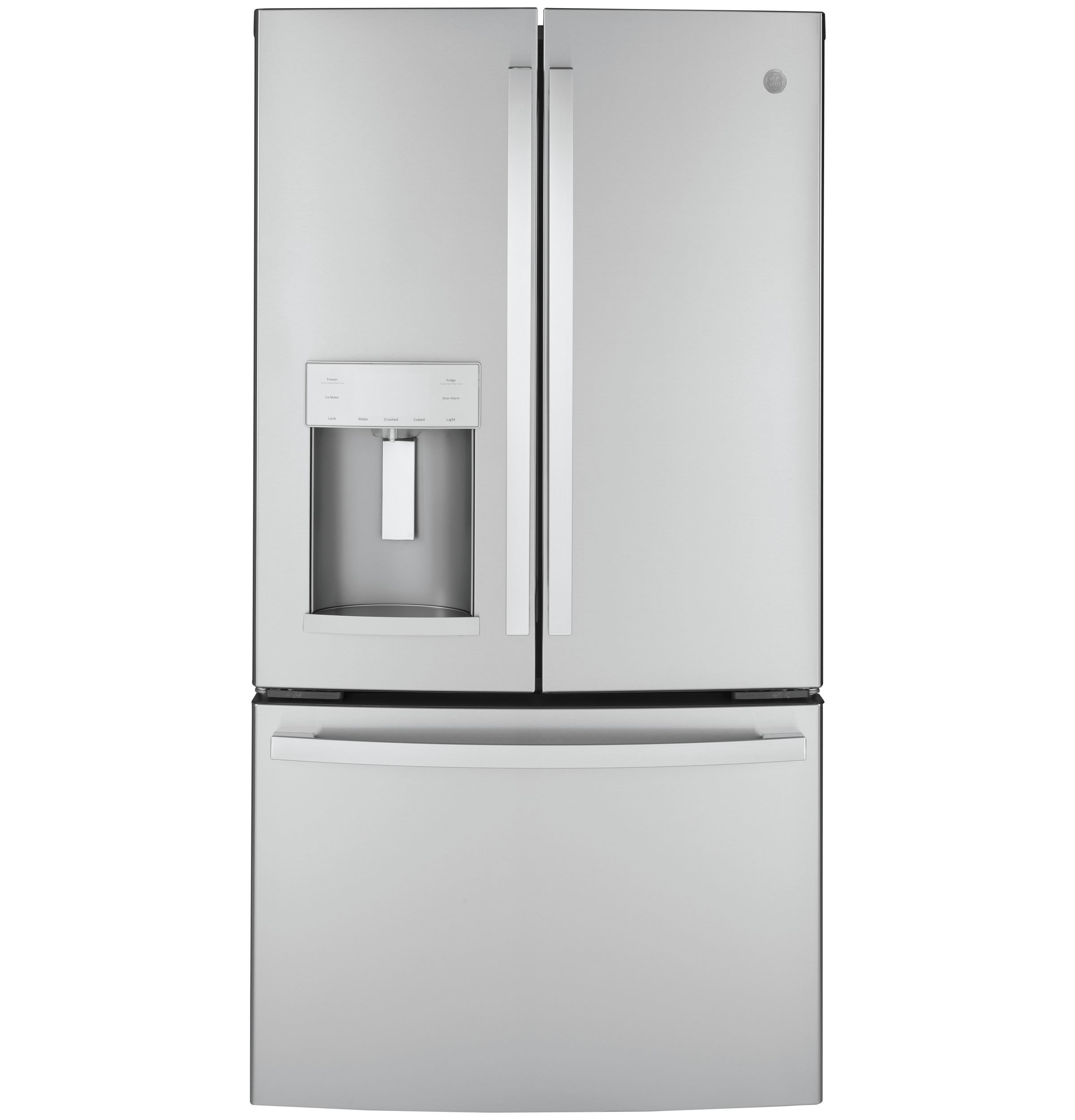 GE GE® ENERGY STAR® 22.1 Cu. Ft. Counter-Depth Fingerprint Resistant French-Door Refrigerator