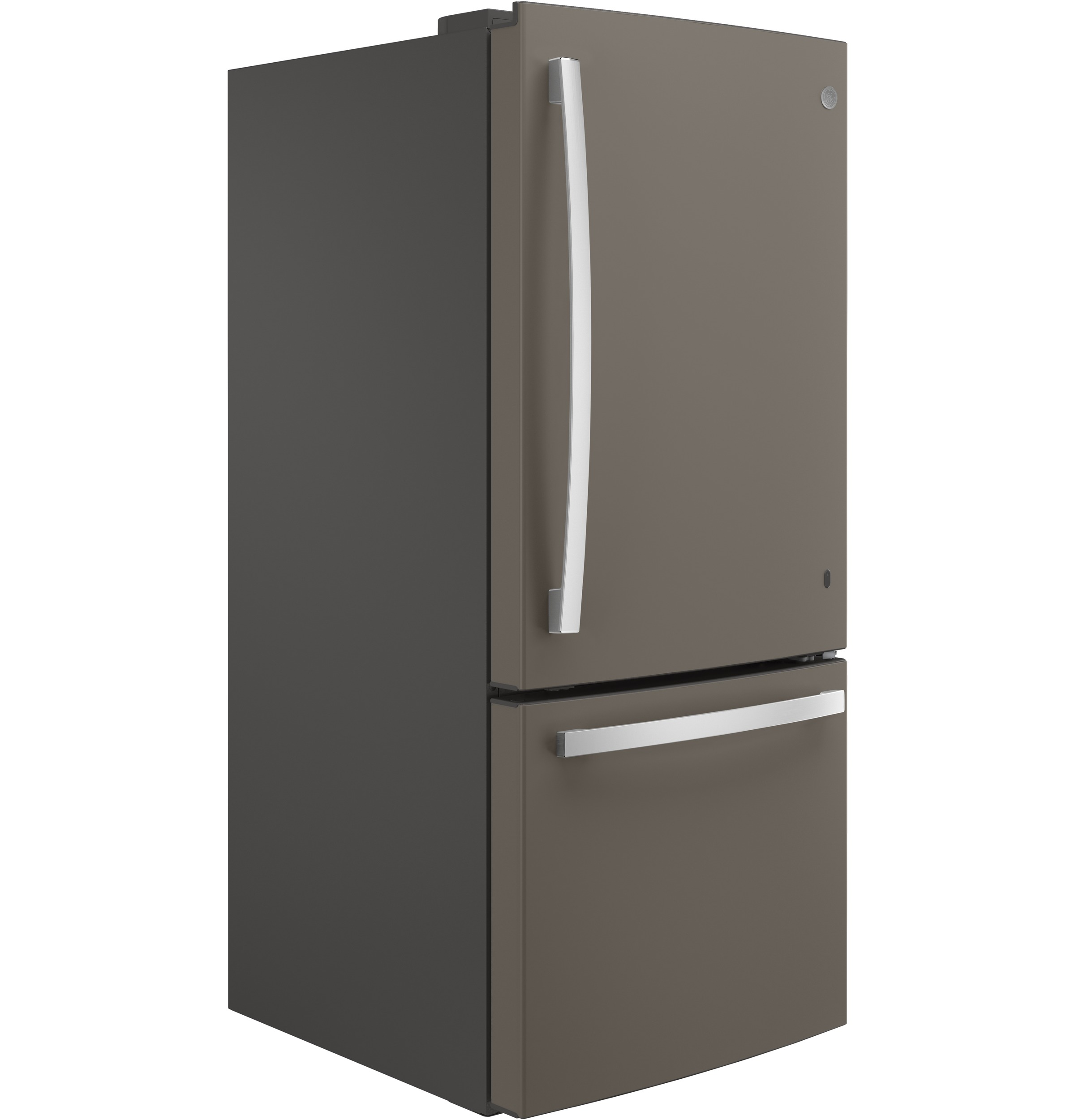 Model: GDE21EMKES | GE GE® ENERGY STAR® 21.0 Cu. Ft. Bottom-Freezer Refrigerator