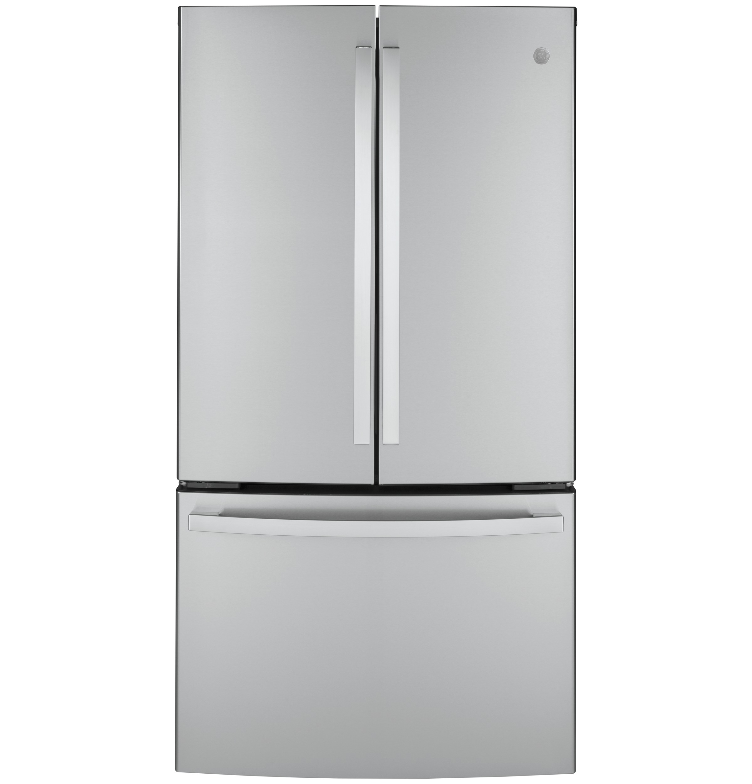 GE GE® ENERGY STAR® 23.1 Cu. Ft. Counter-Depth Fingerprint Resistant French-Door Refrigerator