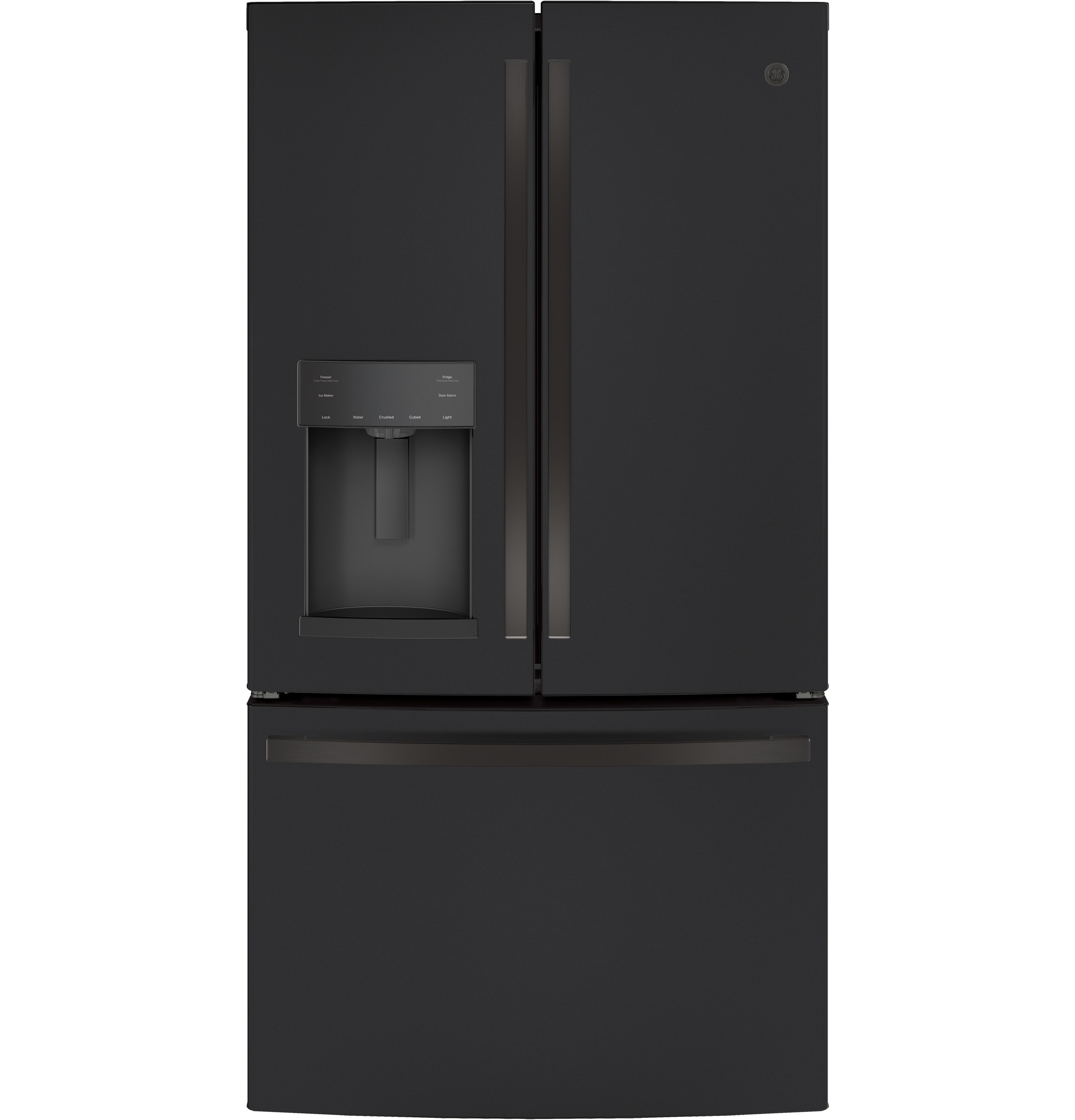 Model: GFE28GELDS | GE GE® ENERGY STAR® 27.7 Cu. Ft. French-Door Refrigerator