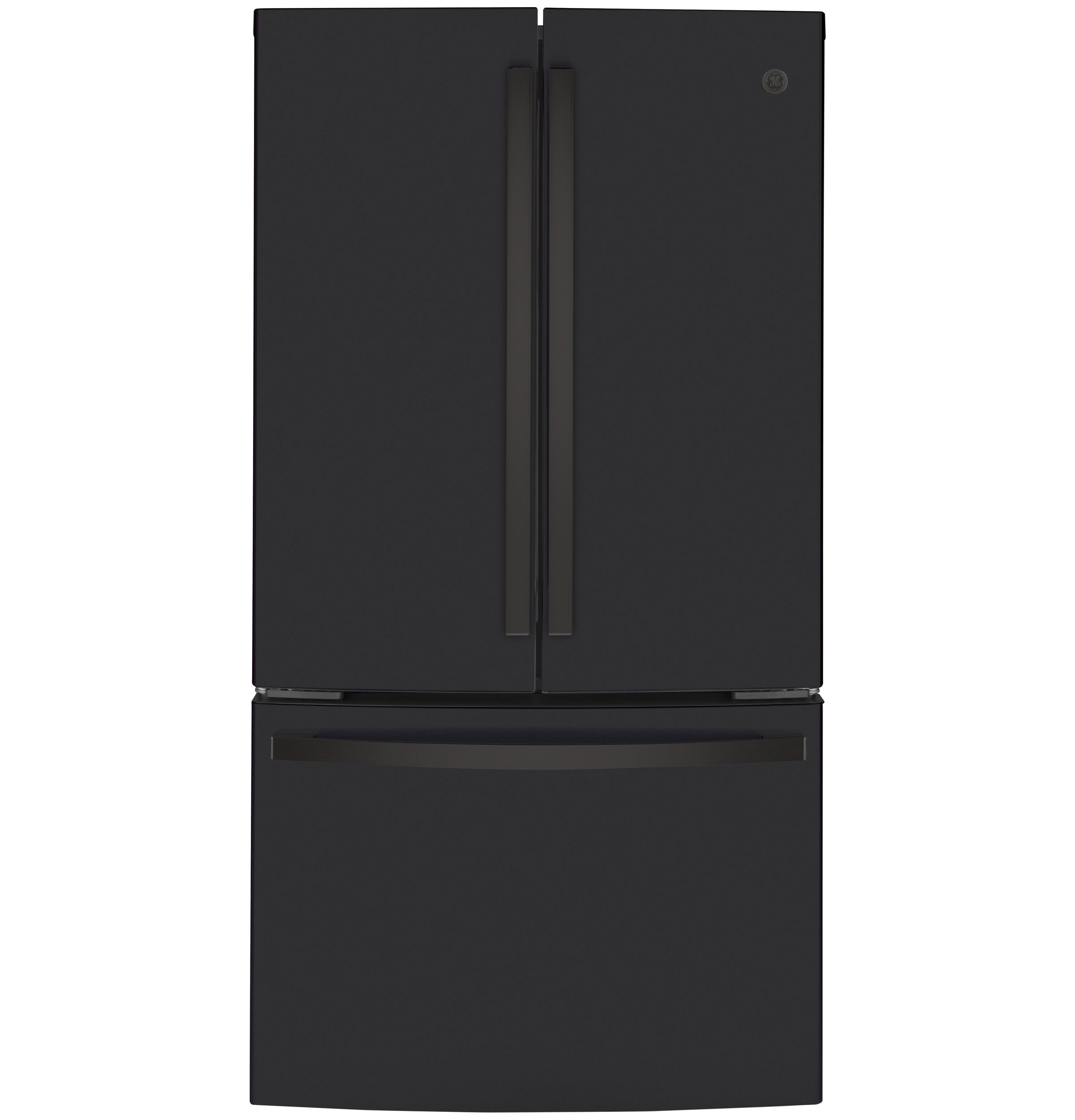 Model: GWE23GENDS | GE GE® ENERGY STAR® 23.1 Cu. Ft. Counter-Depth French-Door Refrigerator