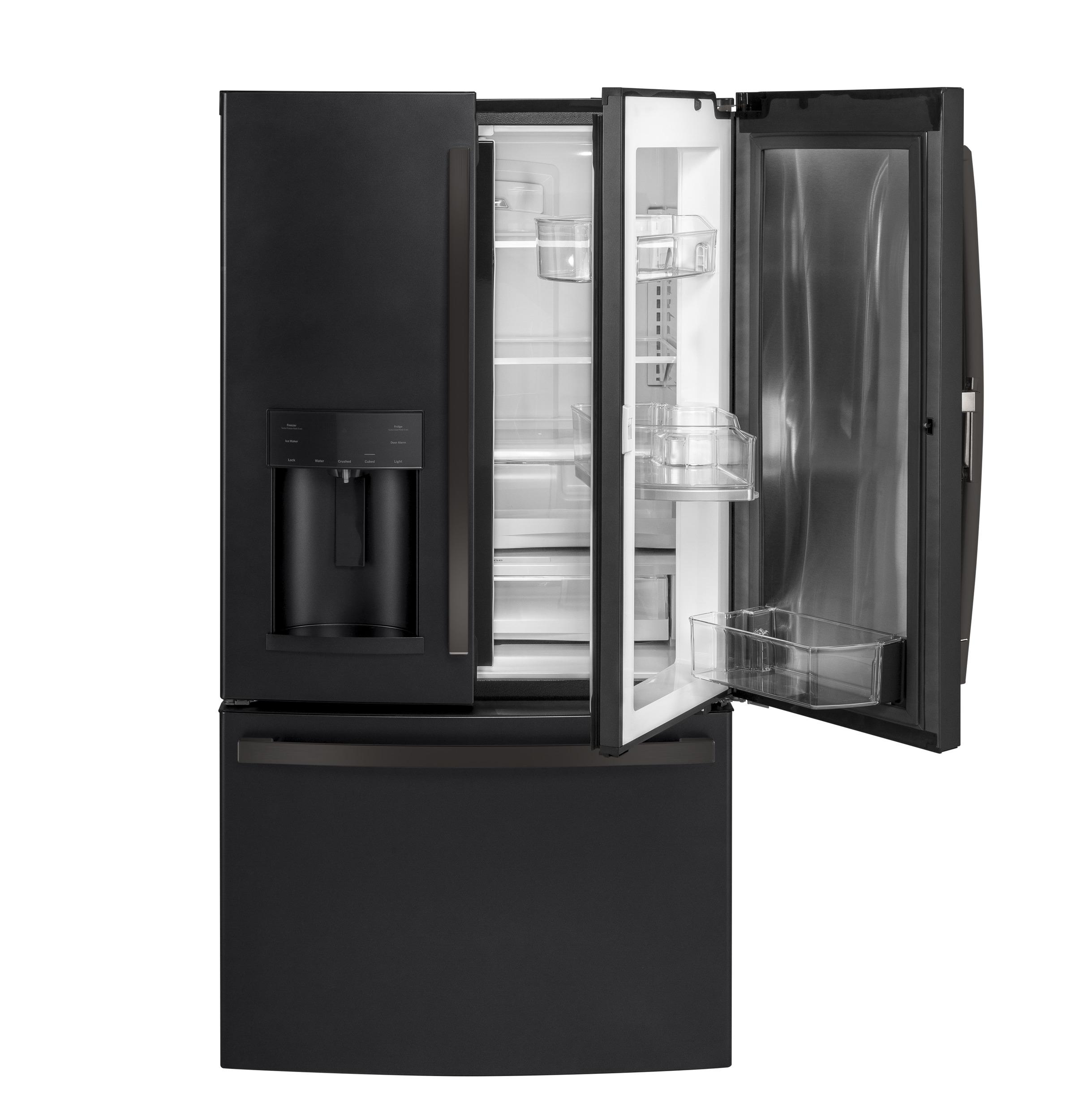 Model: GFD28GELDS | GE GE® 27.7 Cu. Ft. French-Door Refrigerator with Door In Door