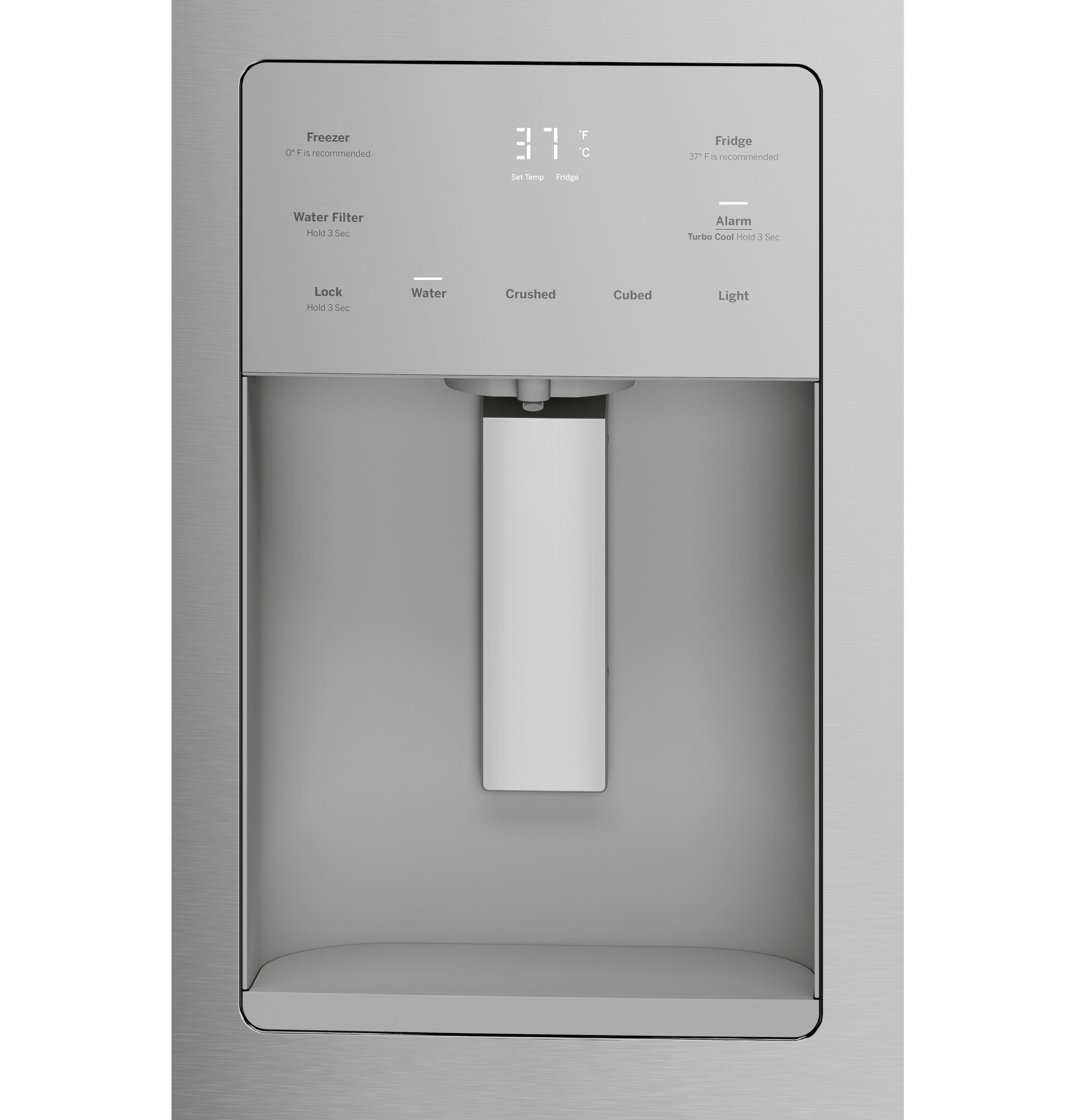 Model: GFE26JSMSS | GE GE® ENERGY STAR® 25.6 Cu. Ft. French-Door Refrigerator