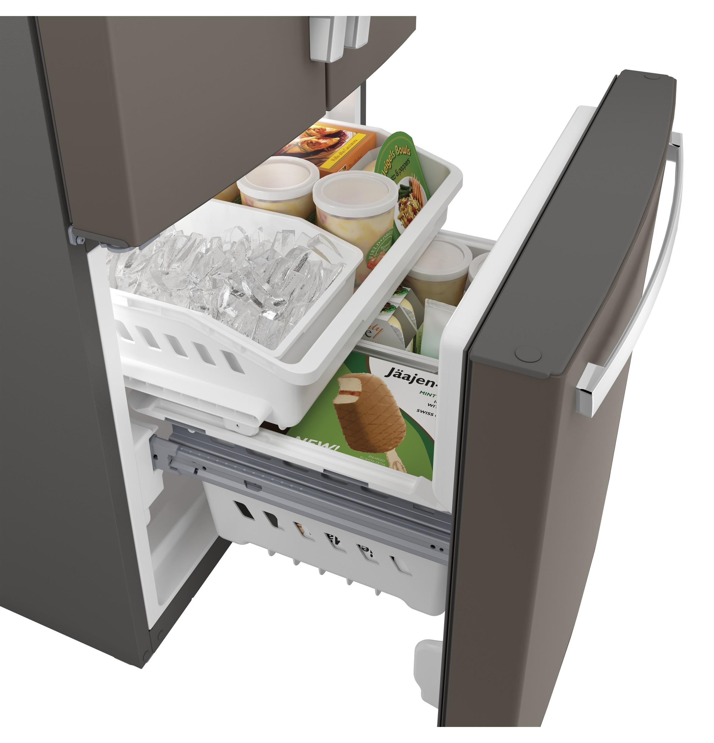 Model: GNE21FMKES   GE GE® ENERGY STAR® 20.8 Cu. Ft. French-Door Refrigerator