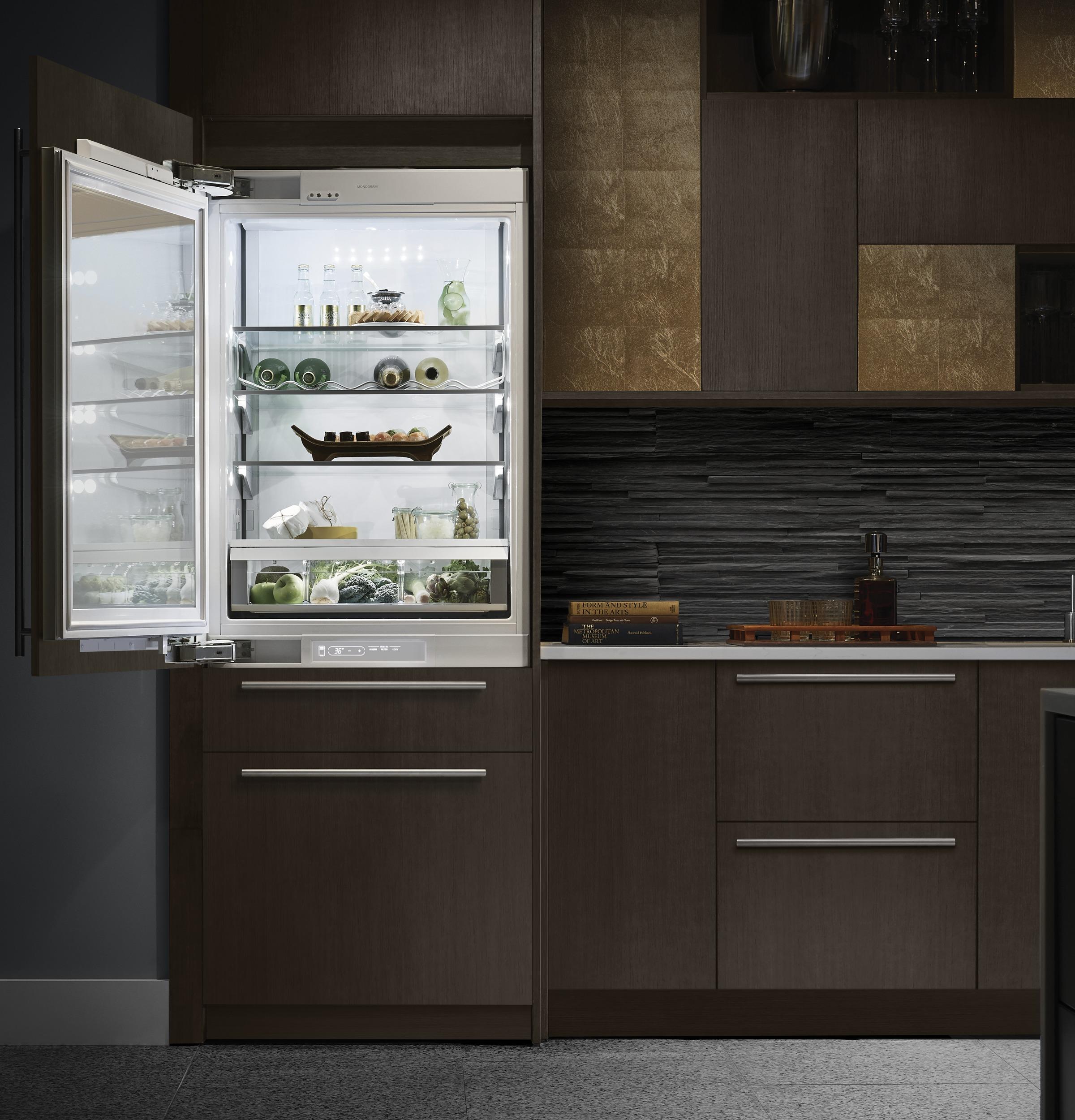 Model: ZIDI240HII | Monogram Monogram Double-Drawer Refrigerator Module