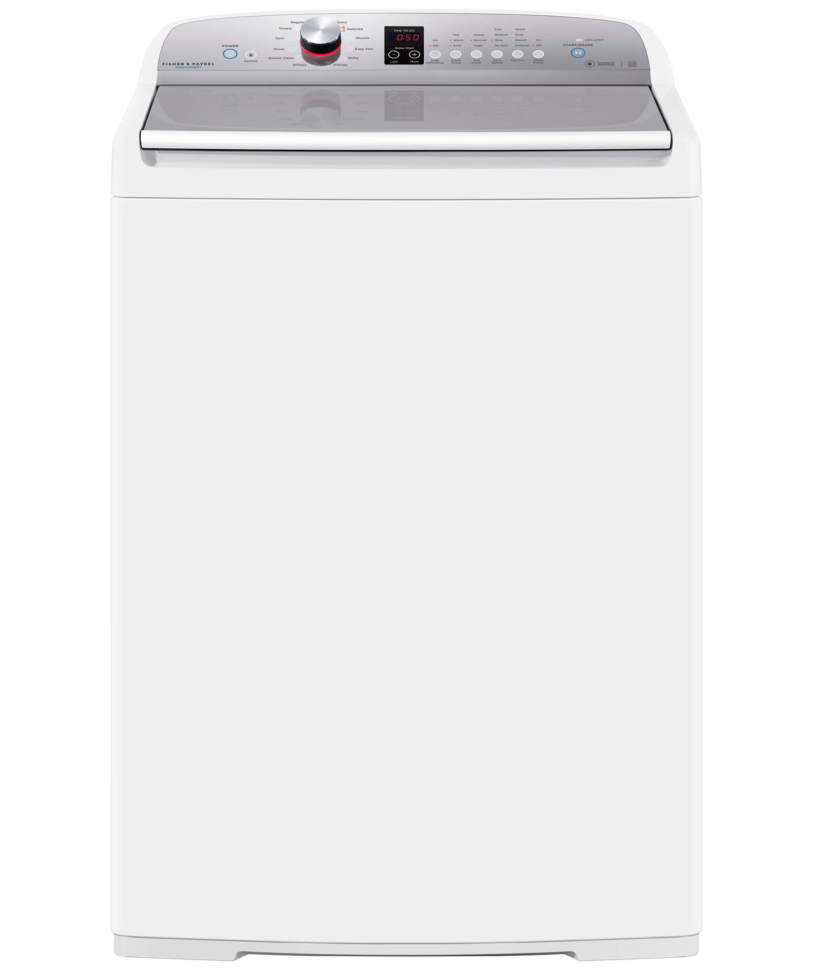 Fisher and Paykel Top Loader Washing Machine, 4 cu ft AquaSmart™