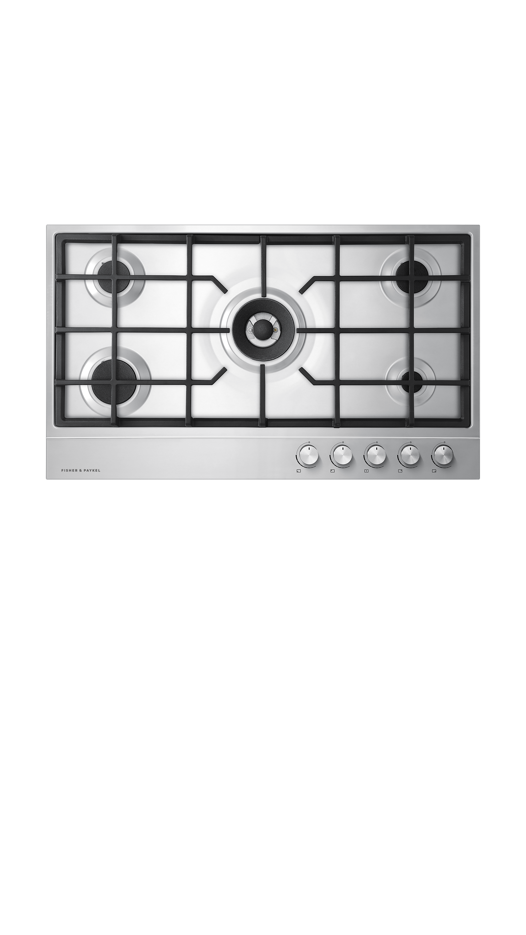 "Model: CG365DLPX1_N | Fisher and Paykel Gas on Steel Cooktop 36"" 5 Burner (LPG)"
