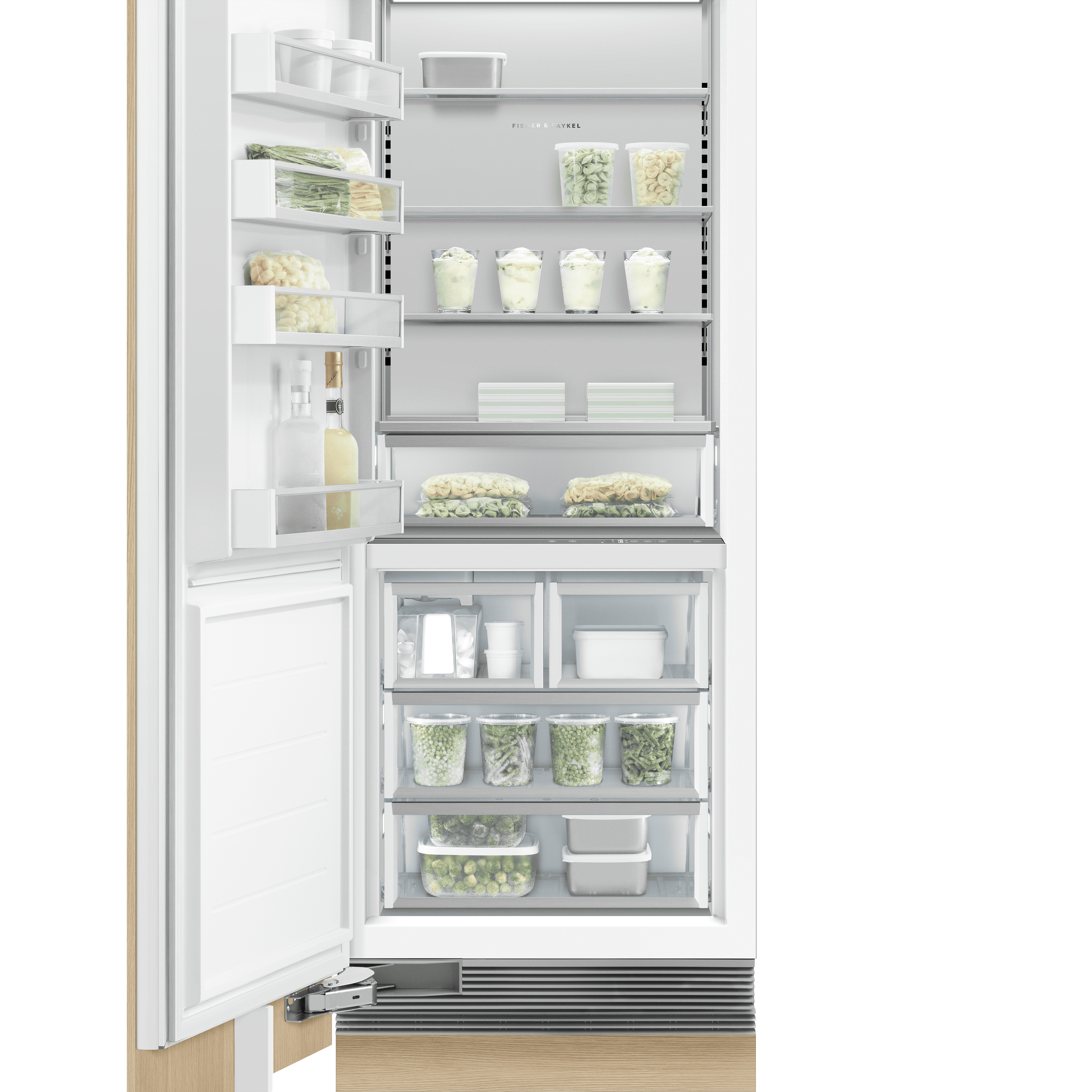 Model: RS3084FLJ1 | Fisher and Paykel Integrated Column Freezer 30""