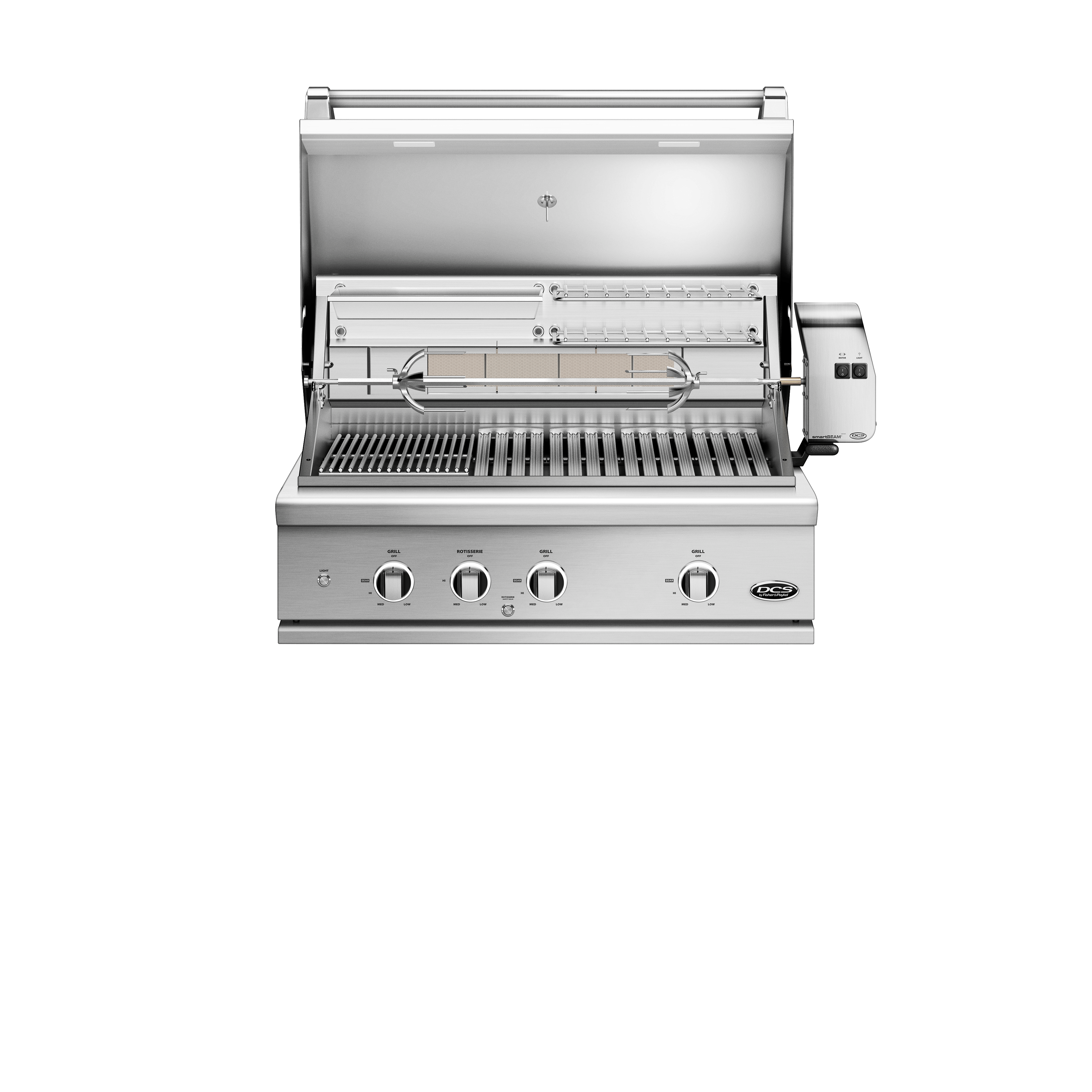 """Model: BE1-36RC-L   DCS 36"""" Grill Series 9, Rotisserie and Charcoal (LPG)"""