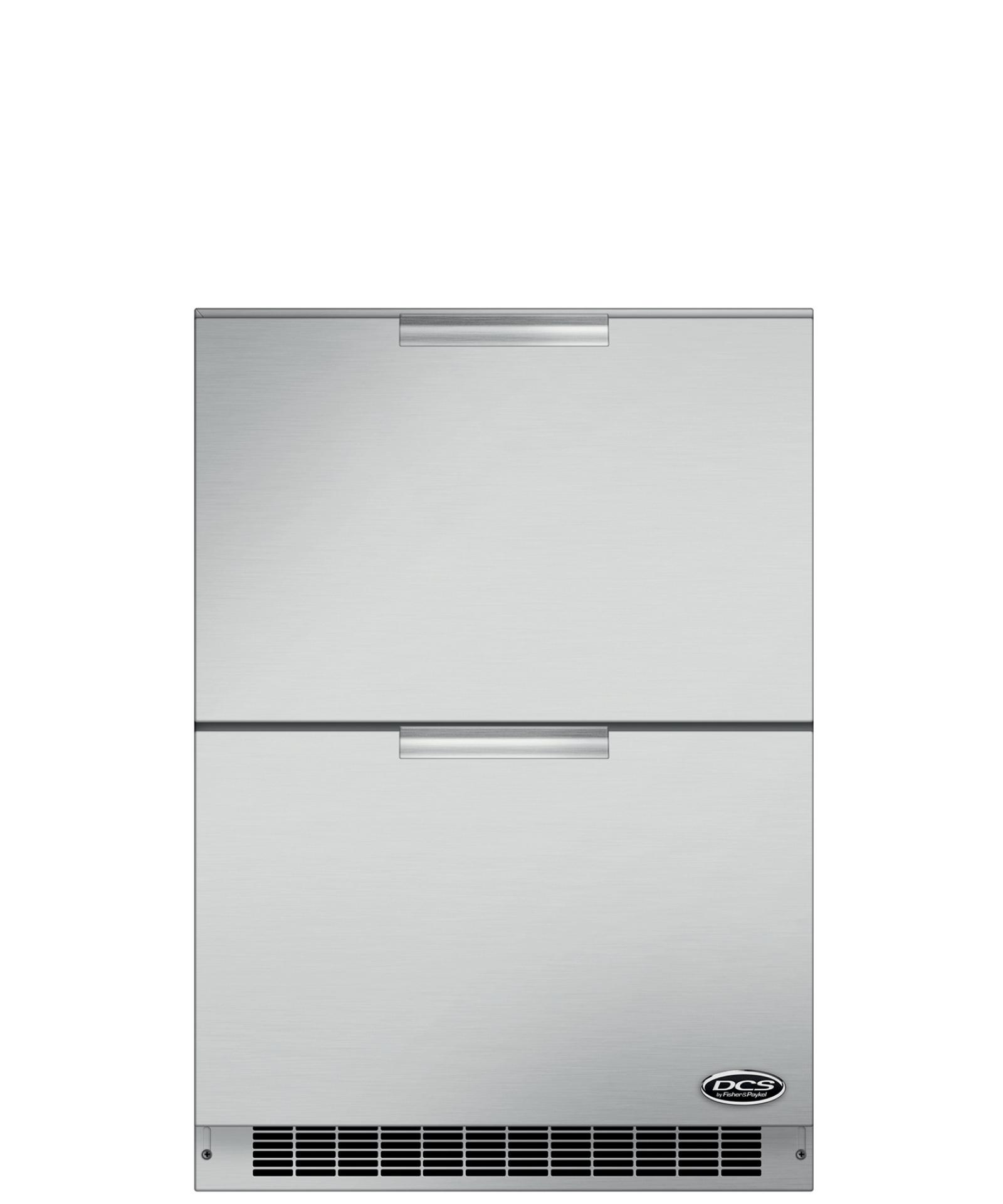 "DCS 24"" Outdoor Refrigerator Drawers"
