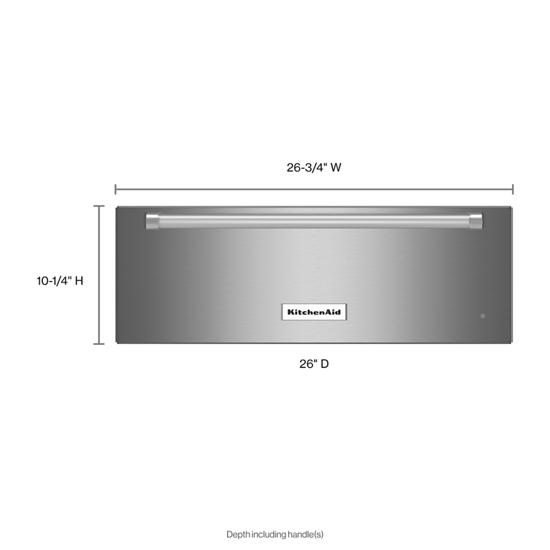 Model: KOWT107ESS | KitchenAid 27'' Slow Cook Warming Drawer