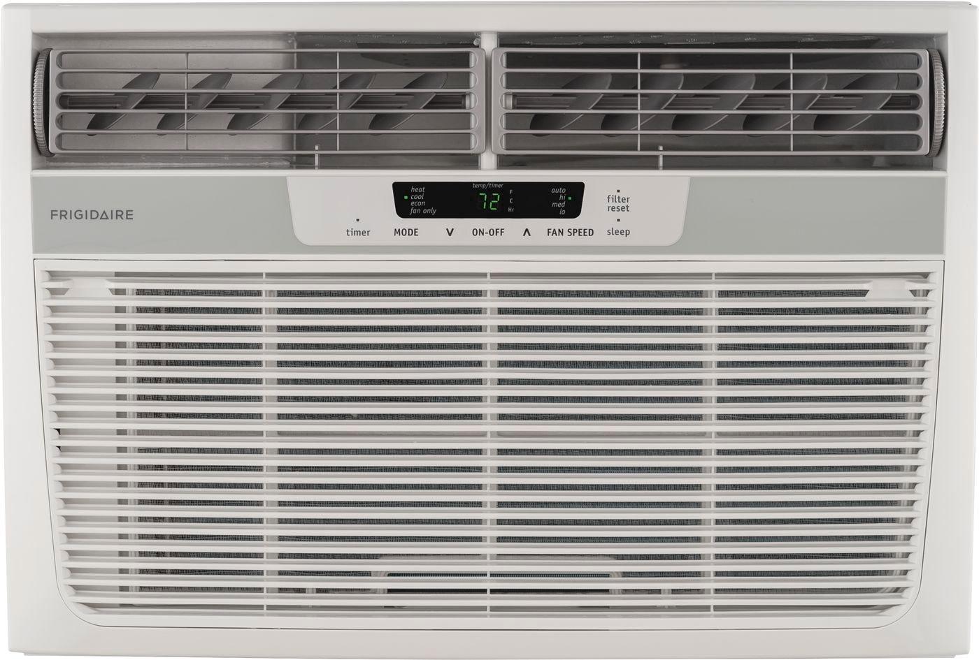 Model: FFRH1122U1 | Frigidaire 11,000 BTU Window-Mounted Room Air Conditioner with Supplemental Heat