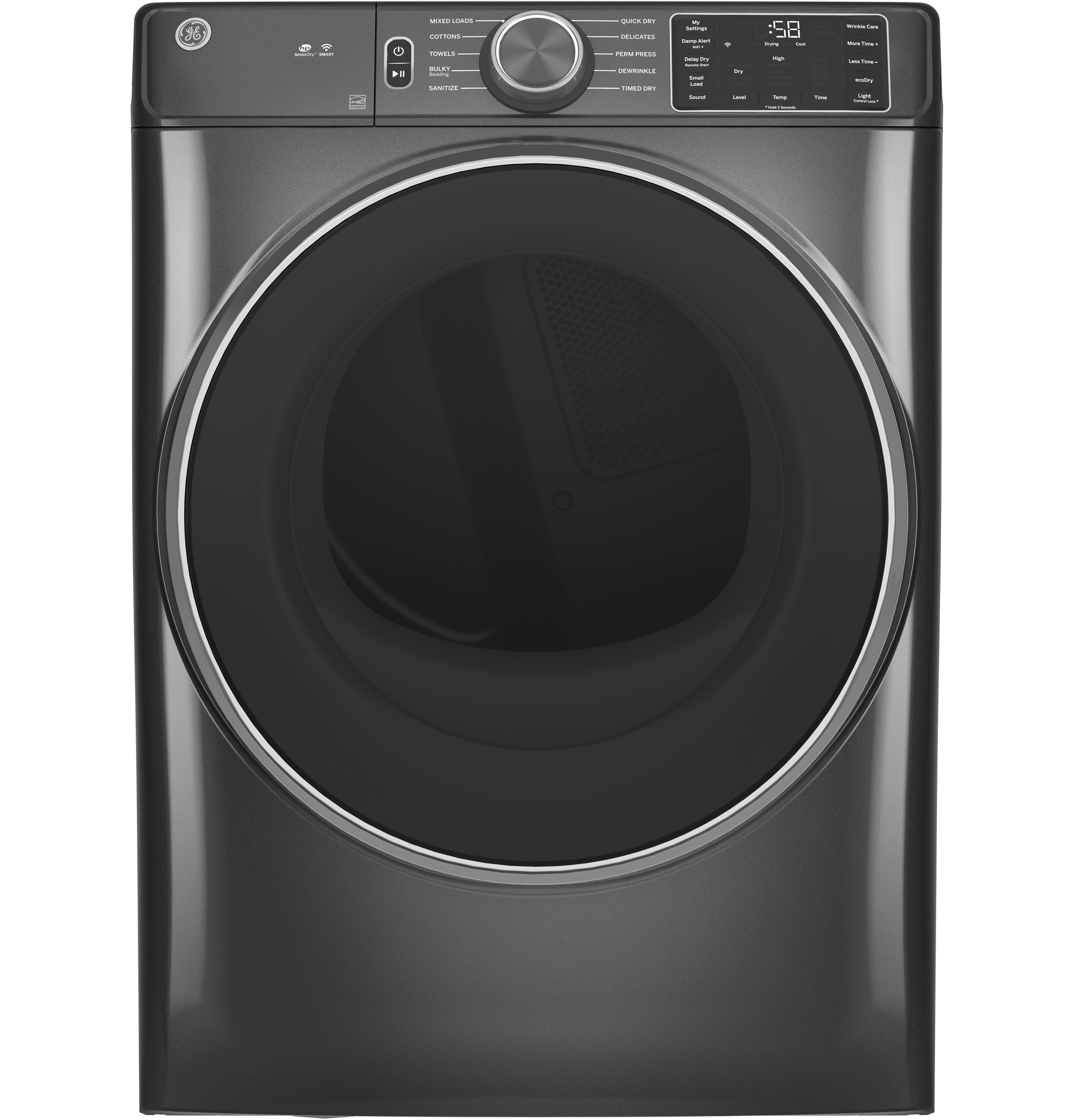 GE GE® 7.8 cu. ft. Capacity Smart Front Load Electric Dryer