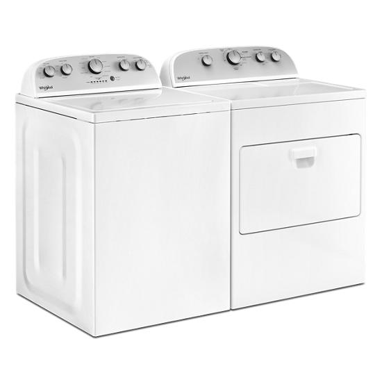 Model: WTW5005KW | Whirlpool 4.2 cu. ft. High-Efficiency Top Load Washer with Agitator