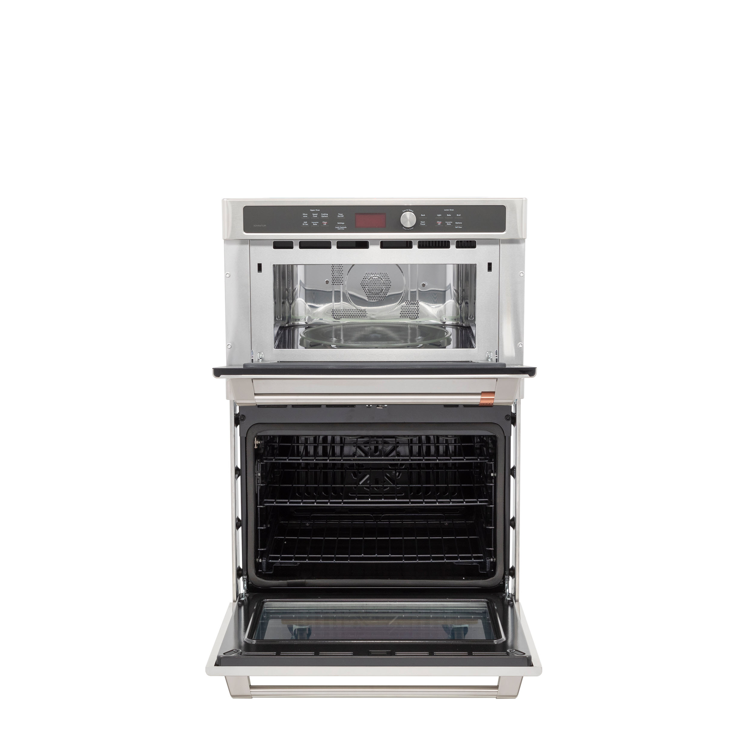 Model: CTC912P2NS1 | Cafe Café™ 30 in. Combination Double Wall Oven with Convection and Advantium® Technology