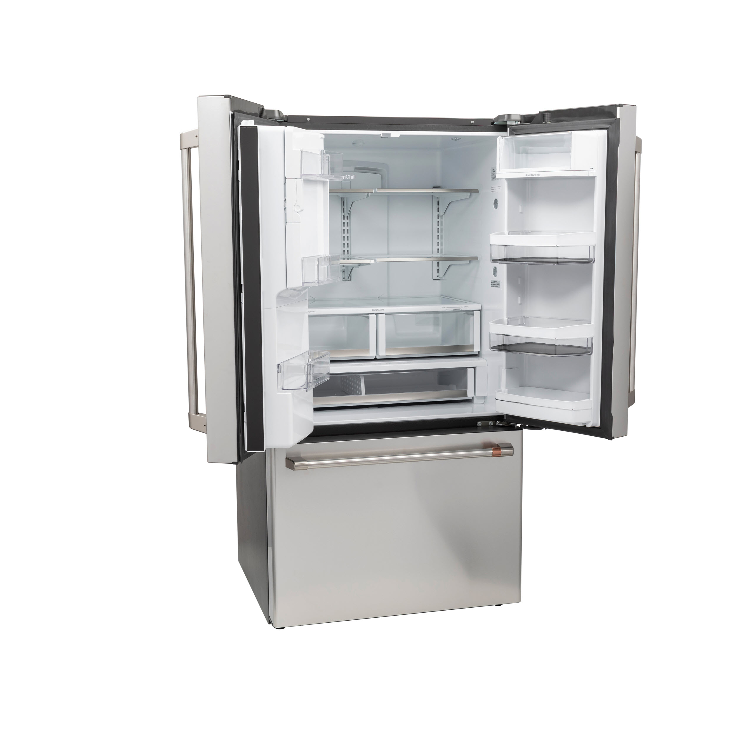 Model: CFE28TP2MS1 | Cafe Café™ ENERGY STAR® 27.8 Cu. Ft. Smart French-Door Refrigerator with Hot Water Dispenser