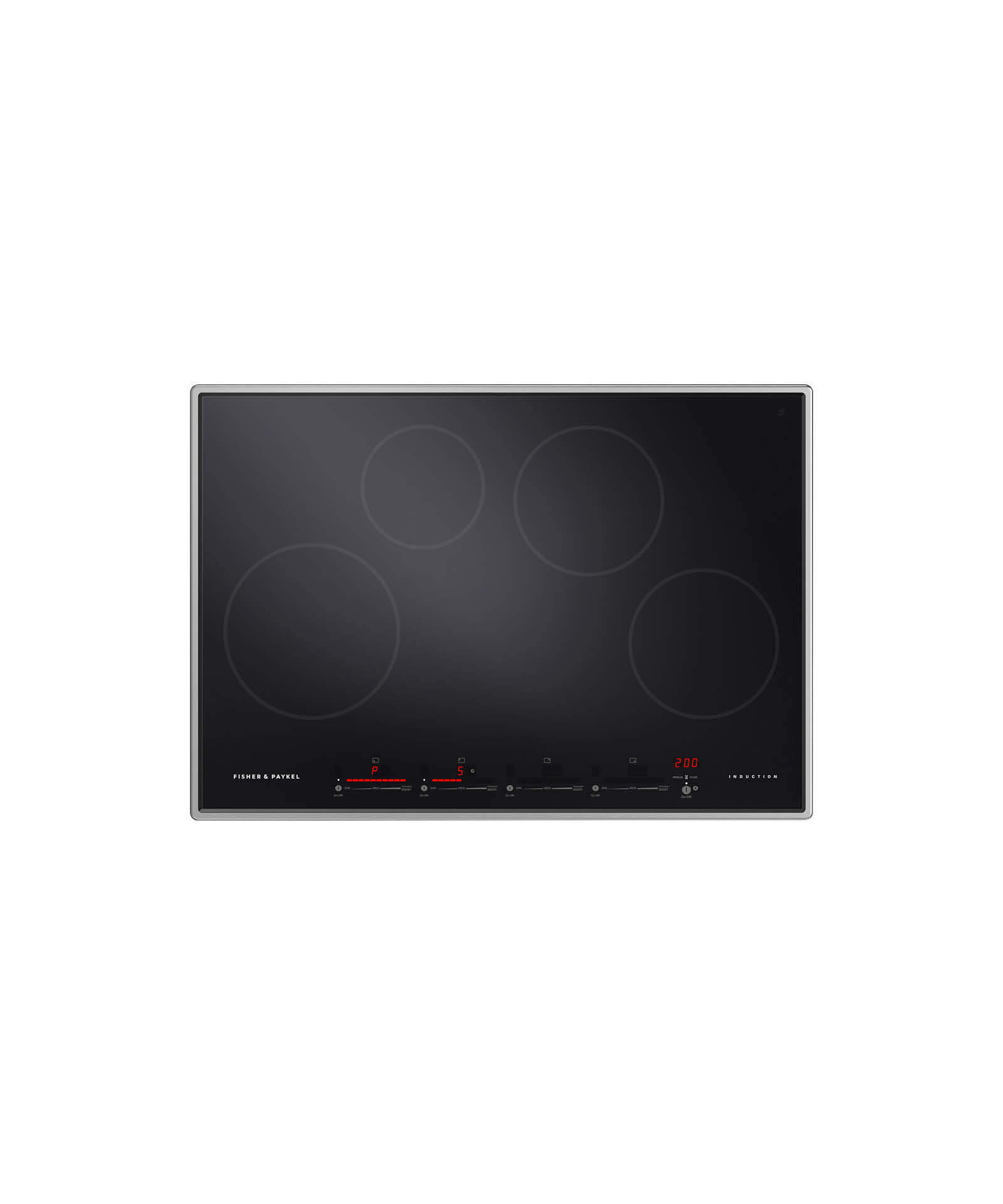 "Fisher and Paykel Induction Cooktop 30"" 4 Zone"
