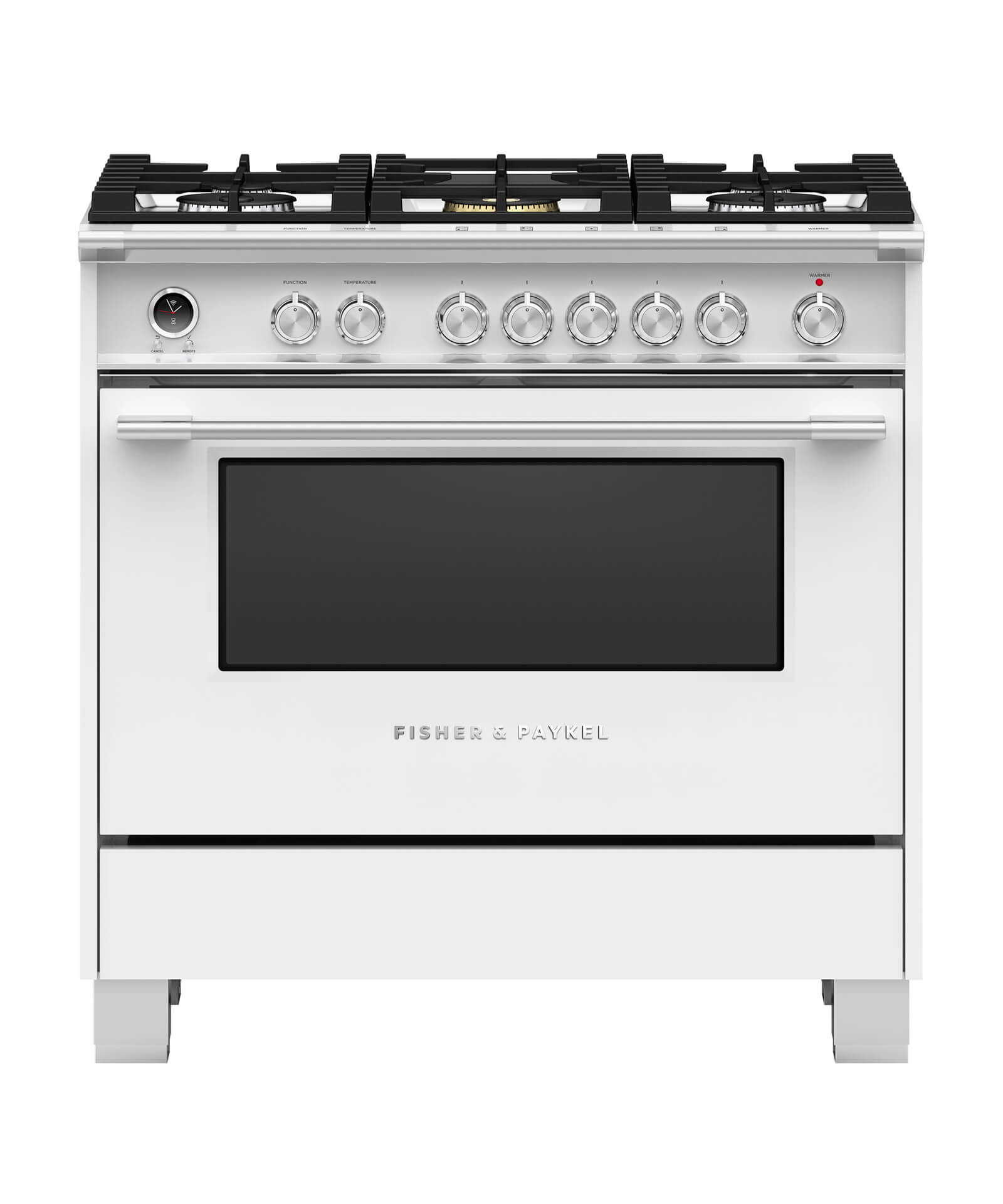 Fisher and Paykel Dual Fuel Range 36""