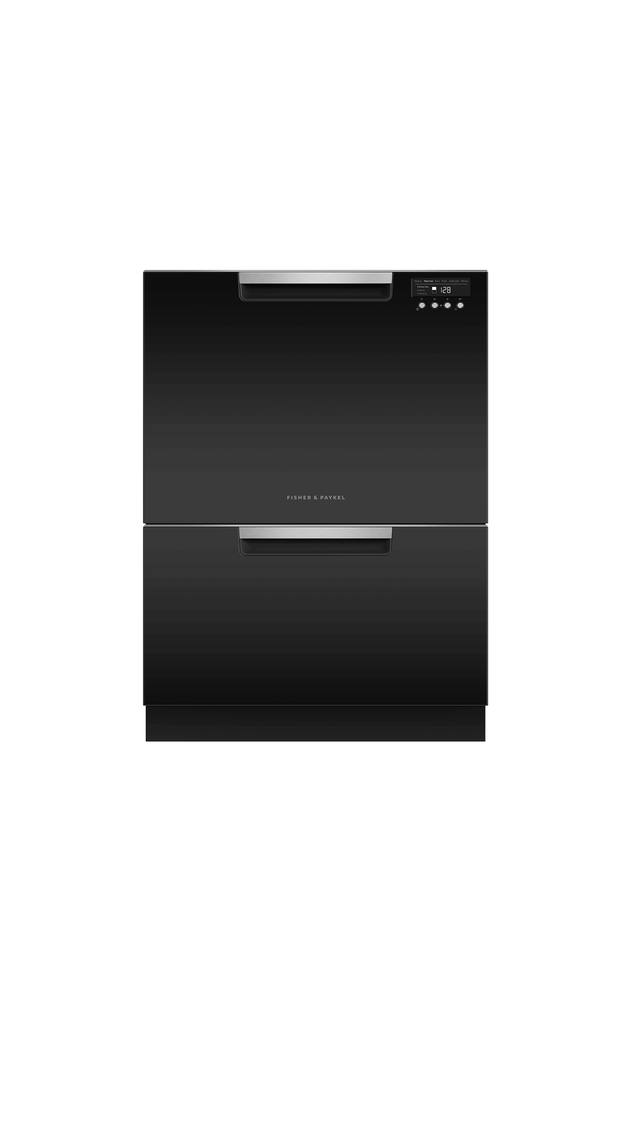 Model: DD24DCTB9_N   Fisher and Paykel Double DishDrawer™, 14 Place Settings, Sanitize (Tall)