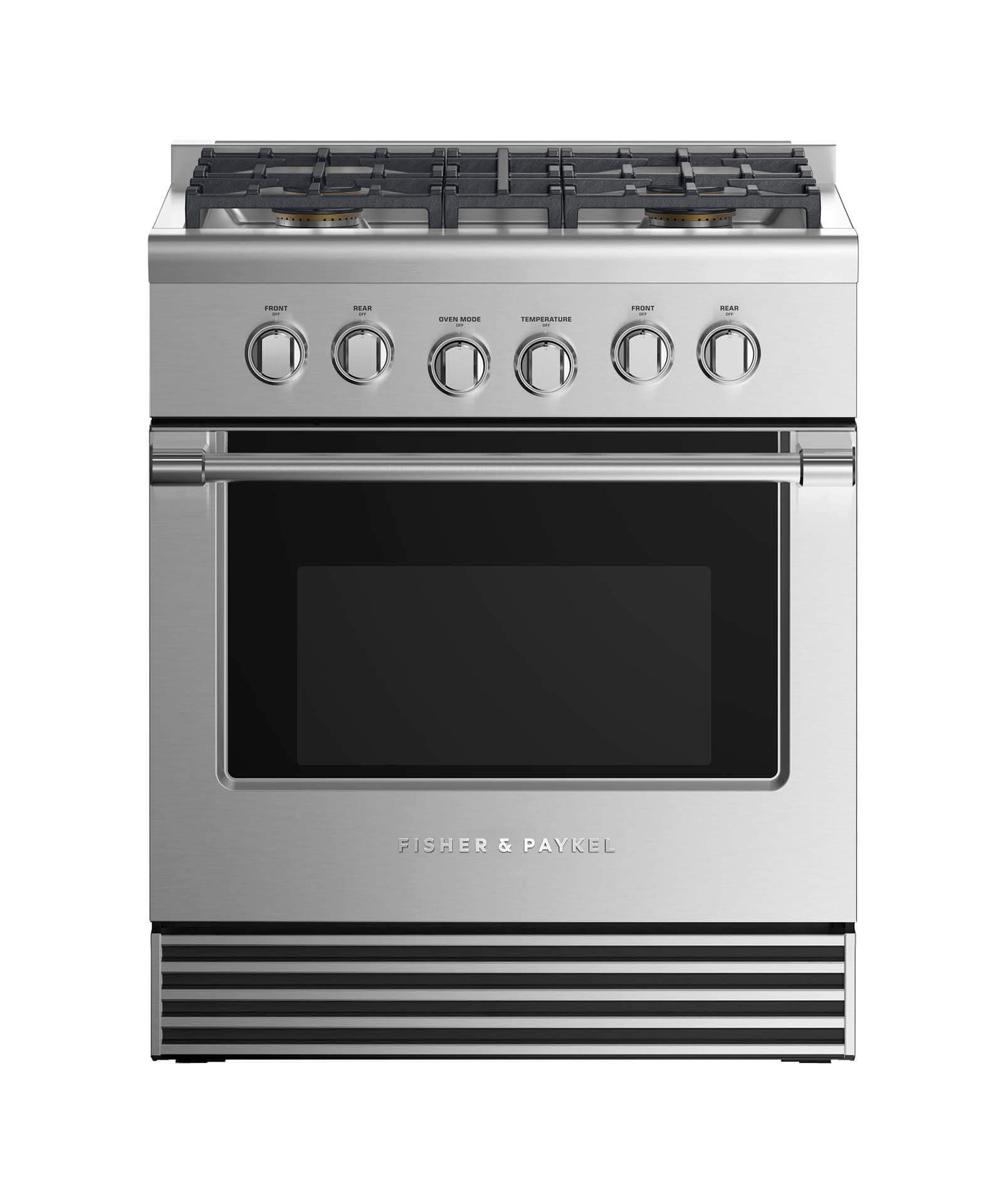 "Fisher and Paykel Gas Range 30"", 4 Burners"