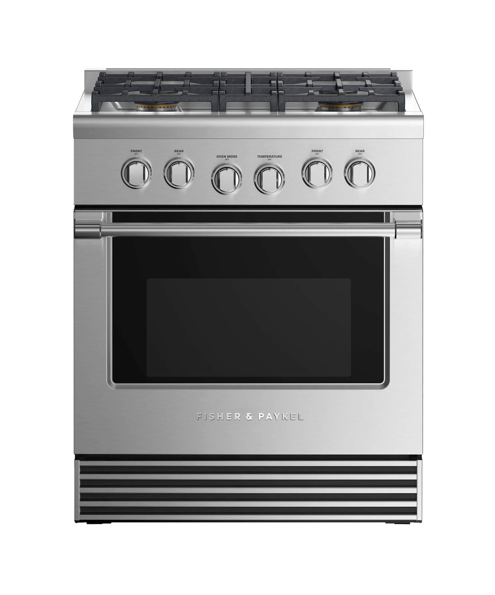 "Fisher and Paykel Dual Fuel Range 30"", 4 Burners (LPG)"