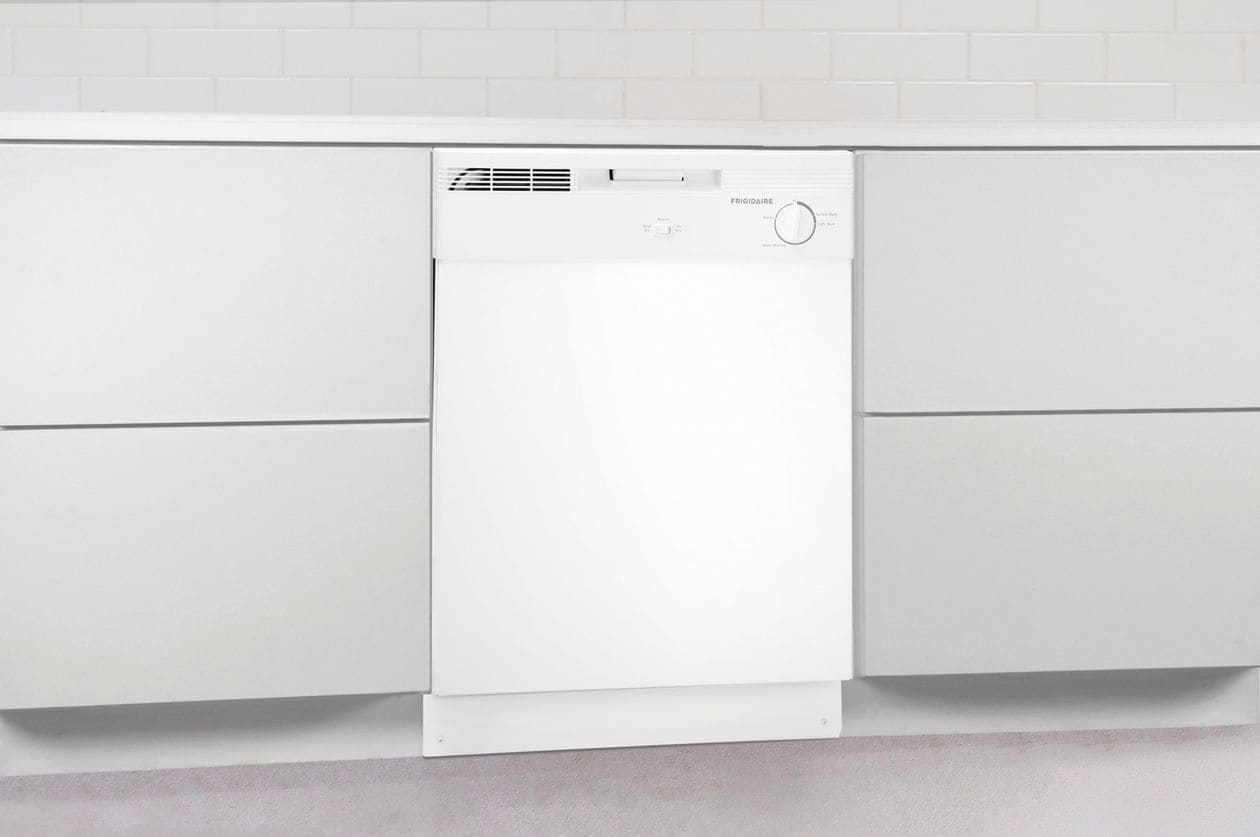 "Model: FBD2400KW   Frigidaire 24"" Built-In Dishwasher"