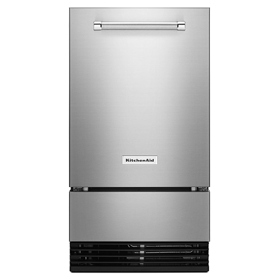 "Model: KUIO338HSS | KitchenAid KitchenAid® 18"" Outdoor Automatic Ice Maker"