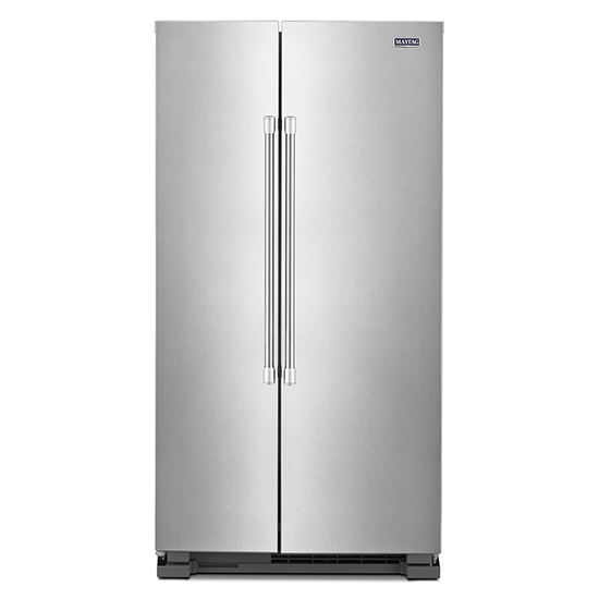 Maytag Mss25n4mkz 36 Inch Wide Side By Side Refrigerator 25 Cu Ft Mss25n4mkz Appliance Direct