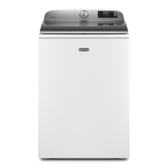 Maytag Smart Capable Top Load Washer with Extra Power Button - 5.2 cu. ft.