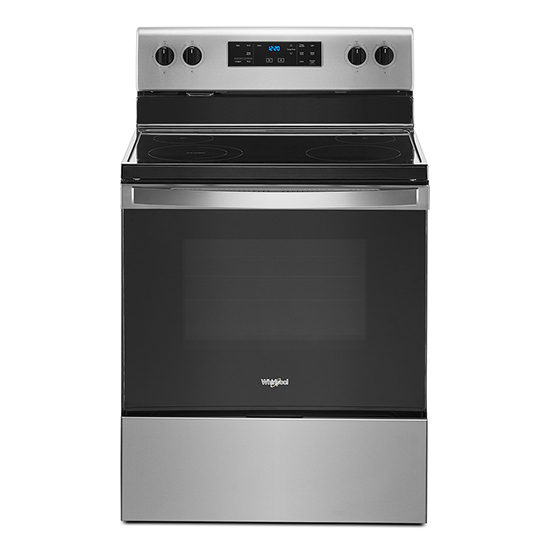 Whirlpool 5.3 cu. ft. Whirlpool® electric range with Frozen Bake™ technology