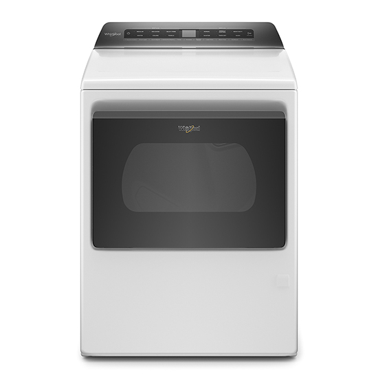 Model: WGD6120HW | Whirlpool 7.4 cu. ft. Smart Capable Top Load Gas Dryer