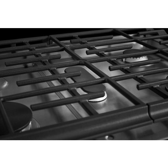 Model: KSDB900ESS | KitchenAid 30-Inch 5-Burner Dual Fuel Convection Slide-In Range with Baking Drawer