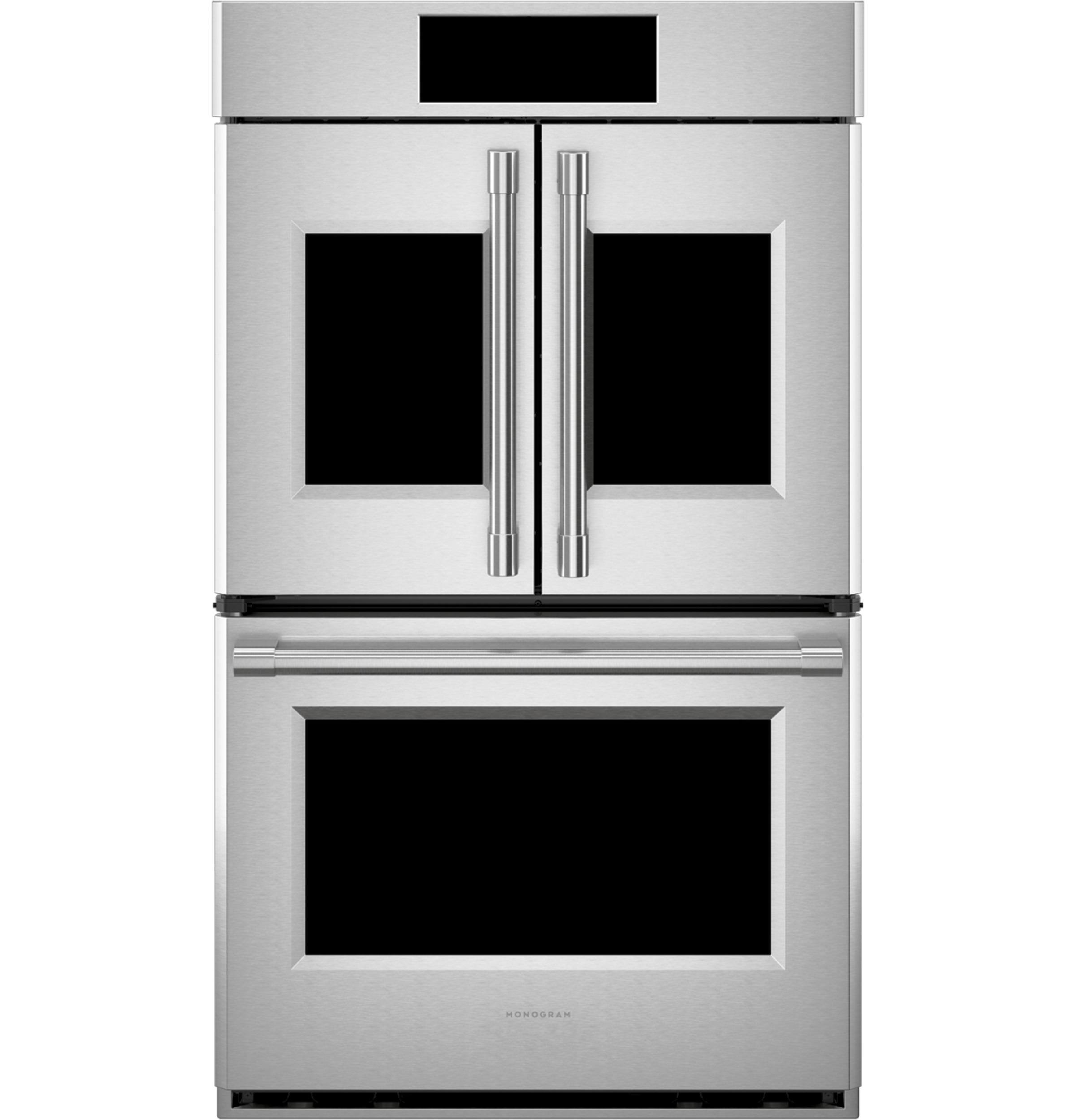 """Monogram Monogram 30"""" Smart French-Door Electric Convection Double Wall Oven Statement Collection"""