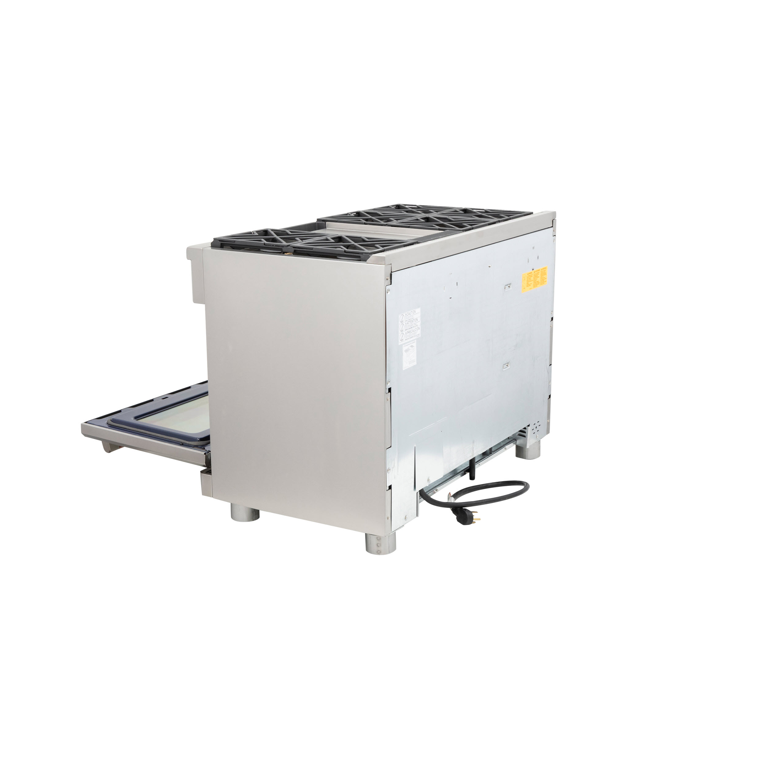 "Model: C2Y486P2MS1 | Cafe Café™ 48"" Dual-Fuel Professional Range with 6 Burners and Griddle (Natural Gas)"